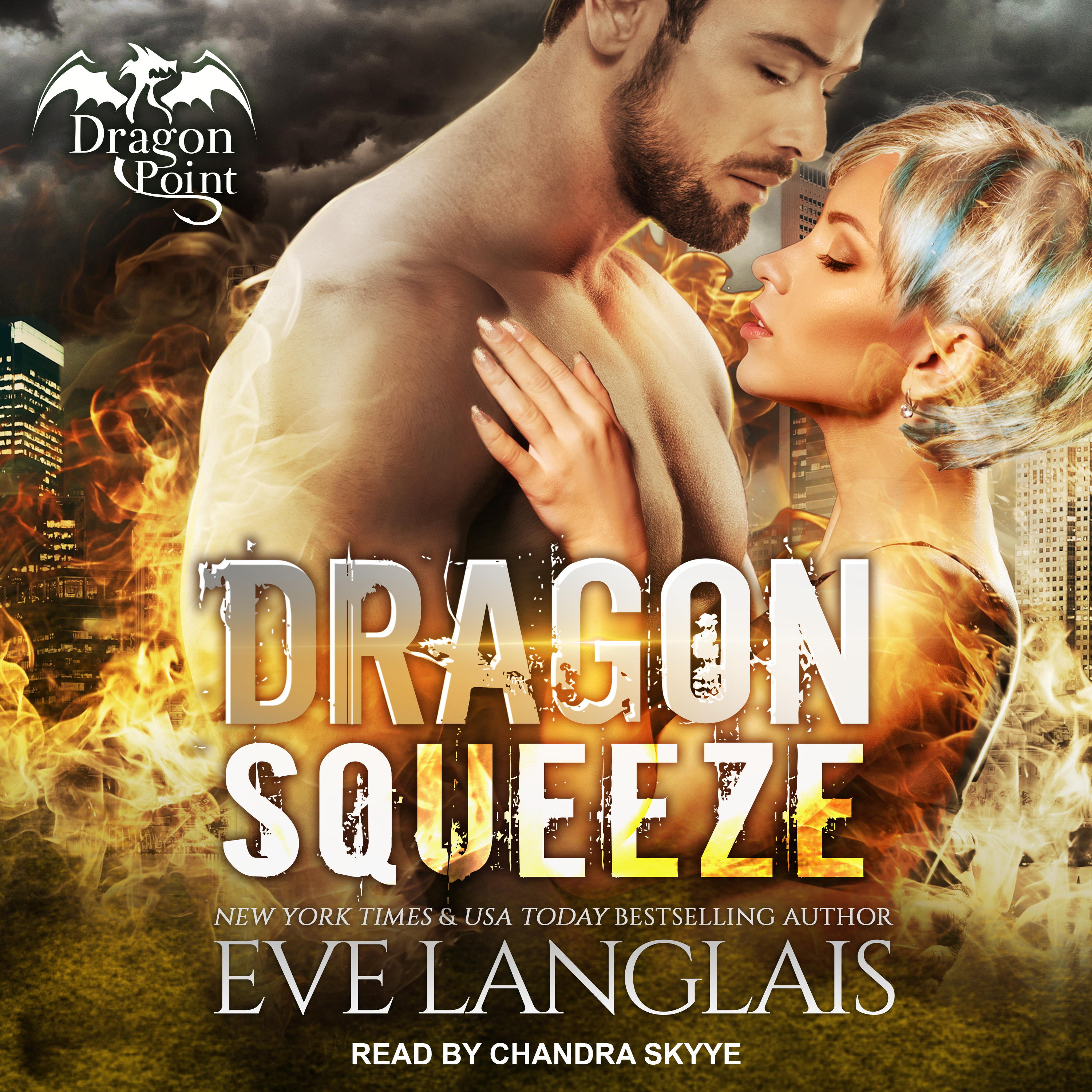 Printable Dragon Squeeze Audiobook Cover Art