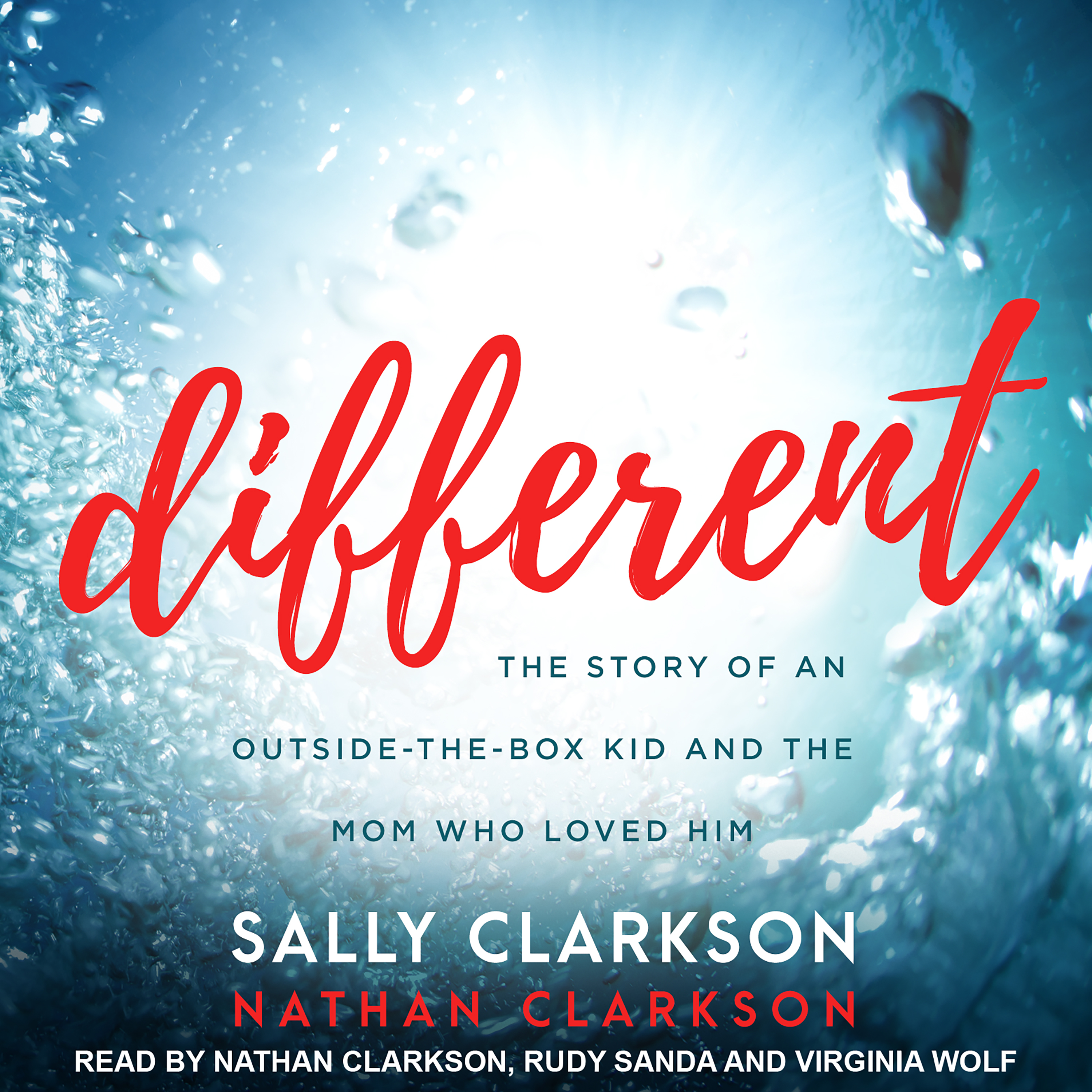Printable Different: The Story of an Outside-the-Box Kid and the Mom Who Loved Him Audiobook Cover Art