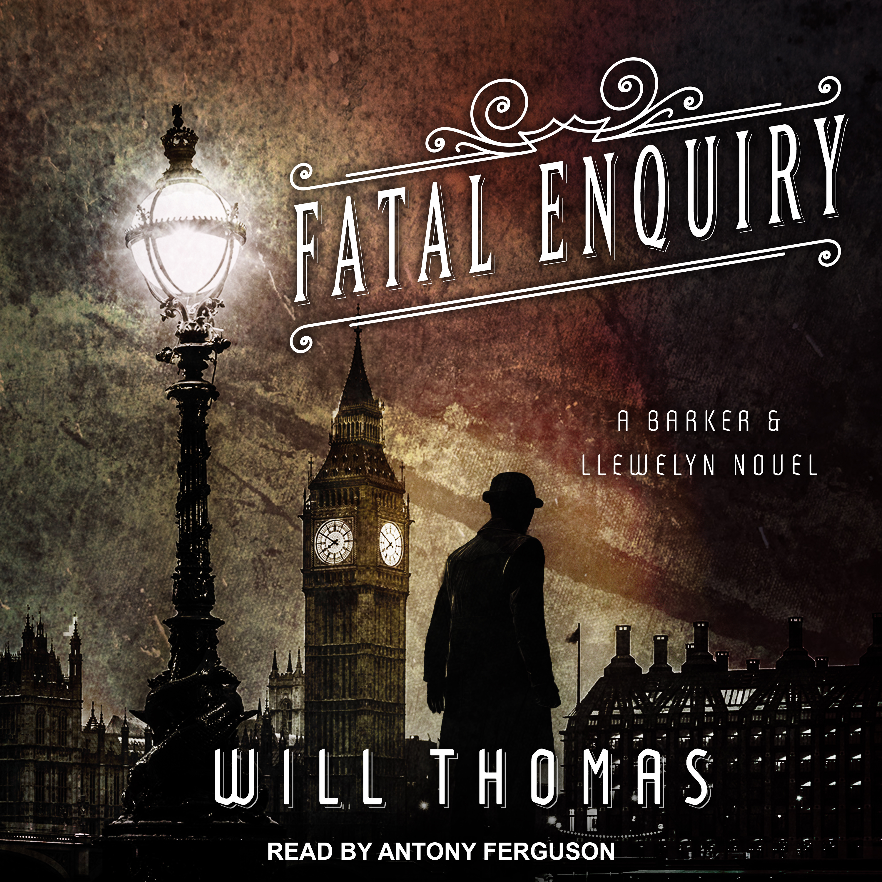 Printable Fatal Enquiry Audiobook Cover Art