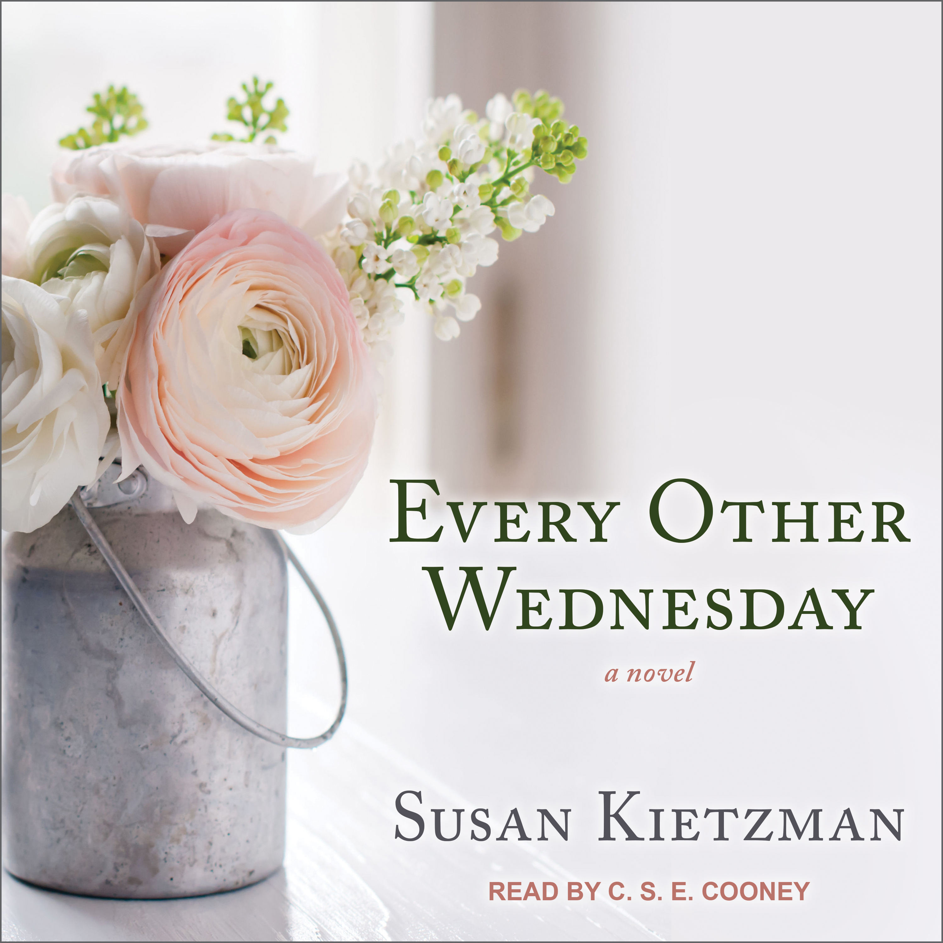 Printable Every Other Wednesday Audiobook Cover Art