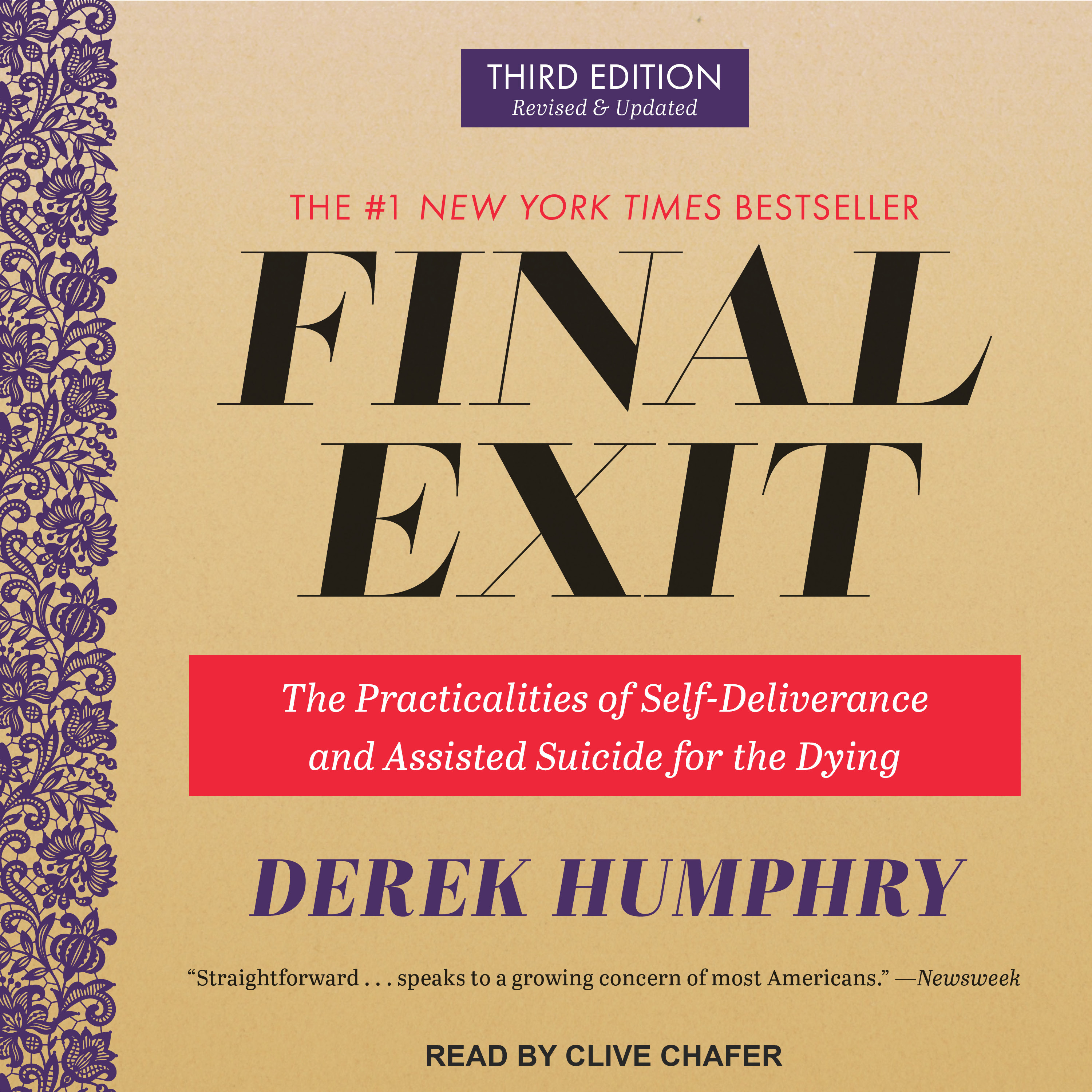 Printable Final Exit: The Practicalities of Self-Deliverance and Assisted Suicide for the Dying, 3rd Edition Audiobook Cover Art
