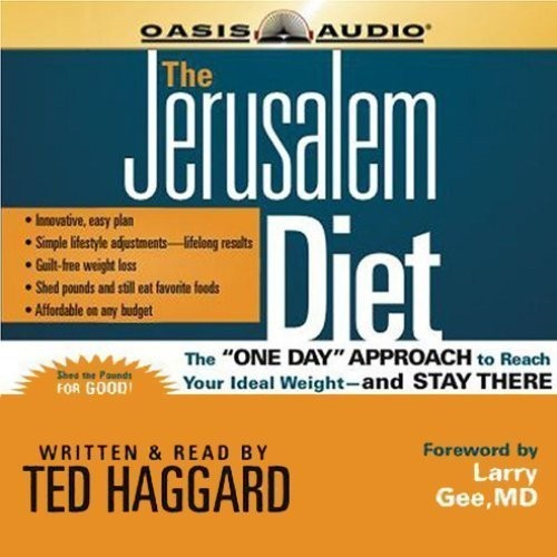 "Printable The Jerusalem Diet: The ""One Day"" Approach to Reach Your Ideal Weight—and Stay There Audiobook Cover Art"