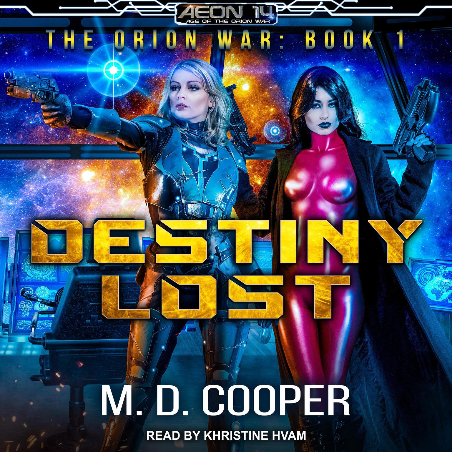 Printable Destiny Lost Audiobook Cover Art
