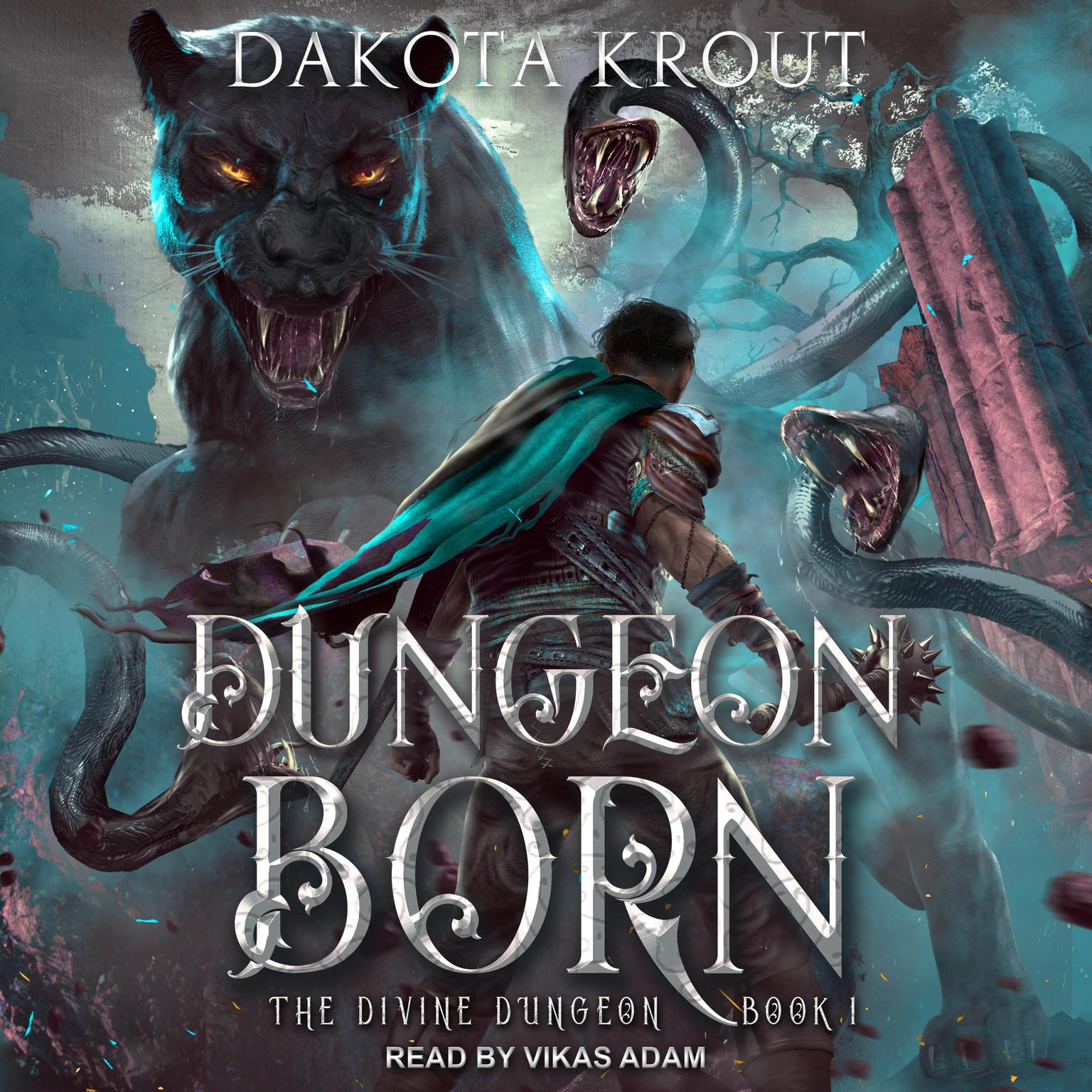 Printable Dungeon Born Audiobook Cover Art