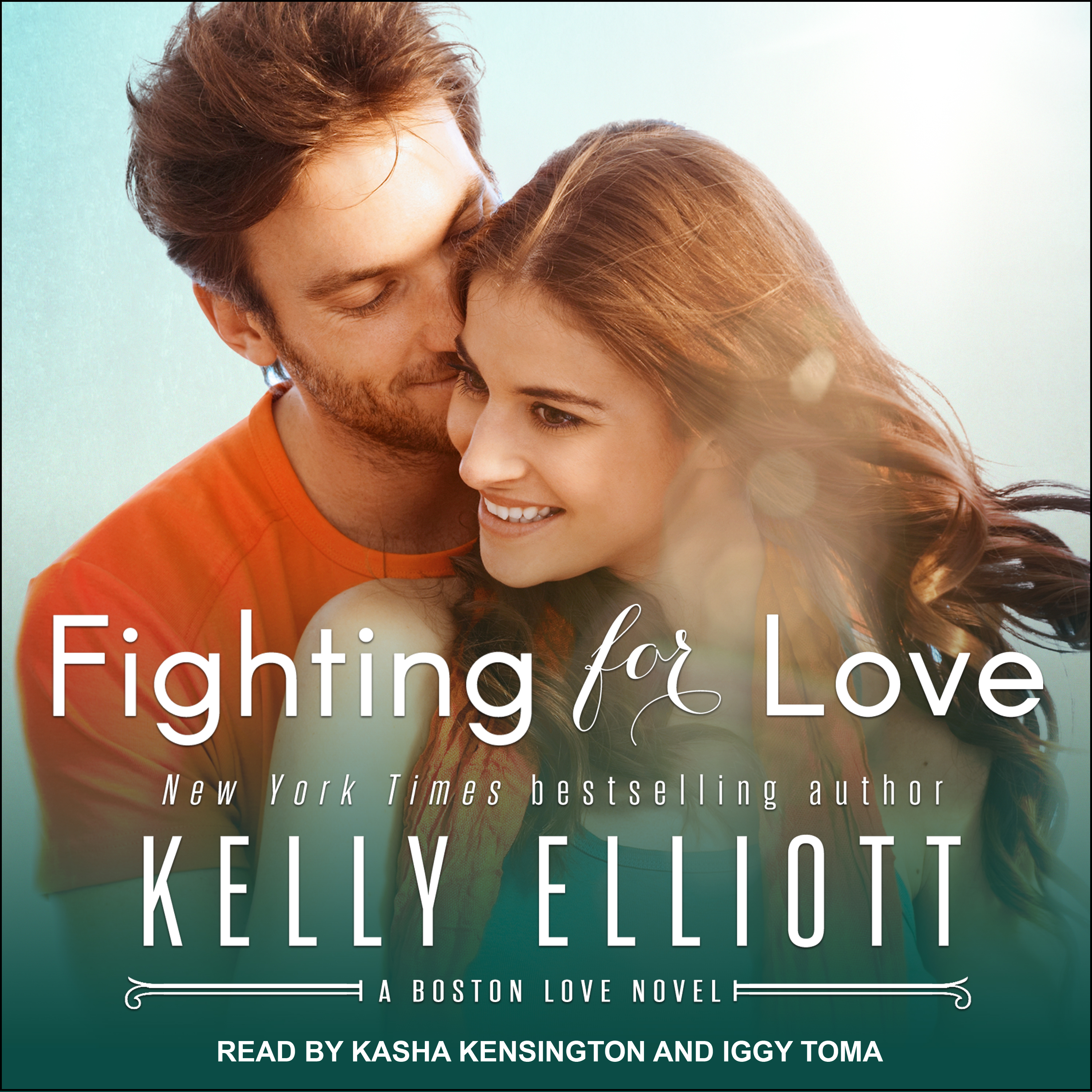 Printable Fighting for Love Audiobook Cover Art
