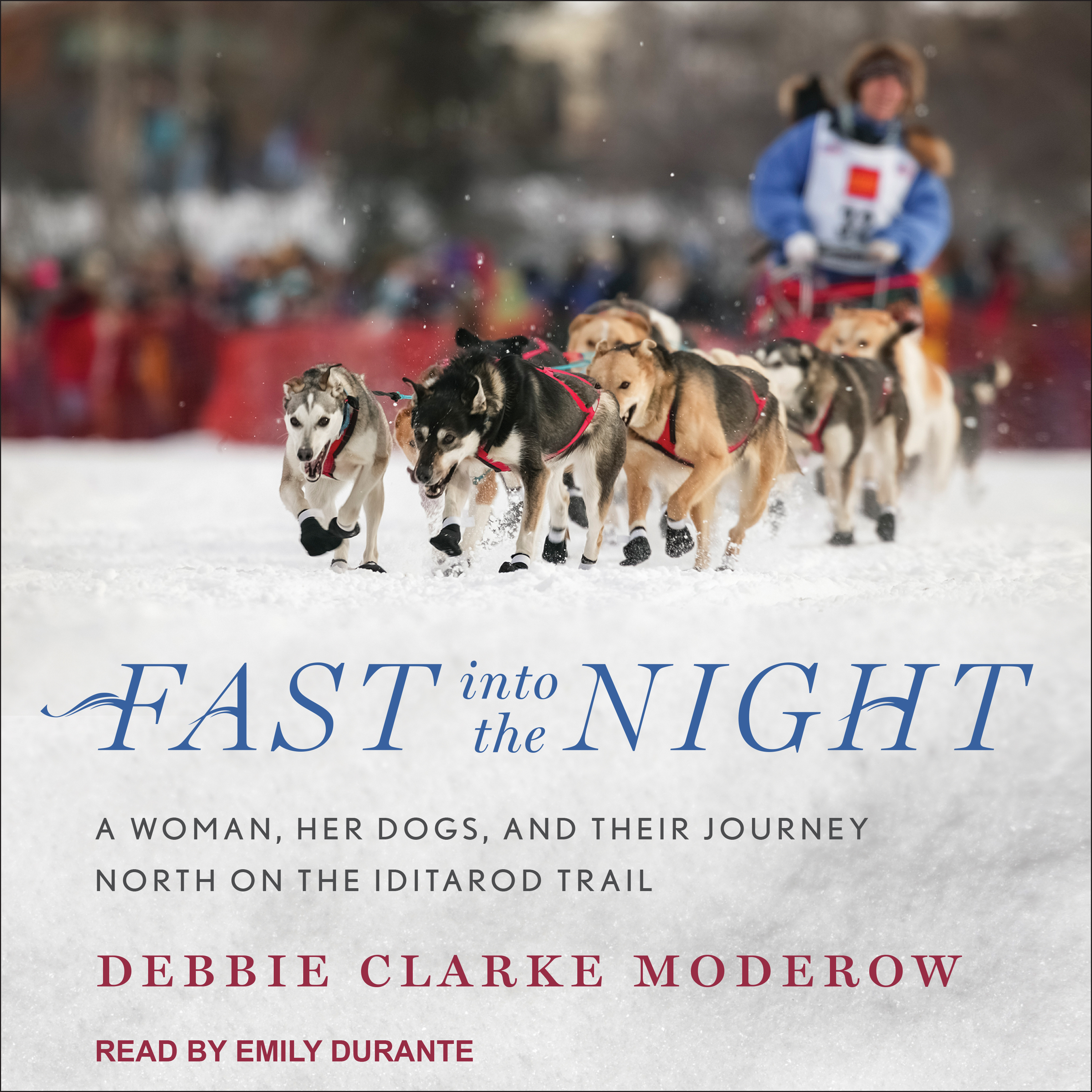 Printable Fast into the Night: A Woman, Her Dogs, and Their Journey North on the Iditarod Trail Audiobook Cover Art