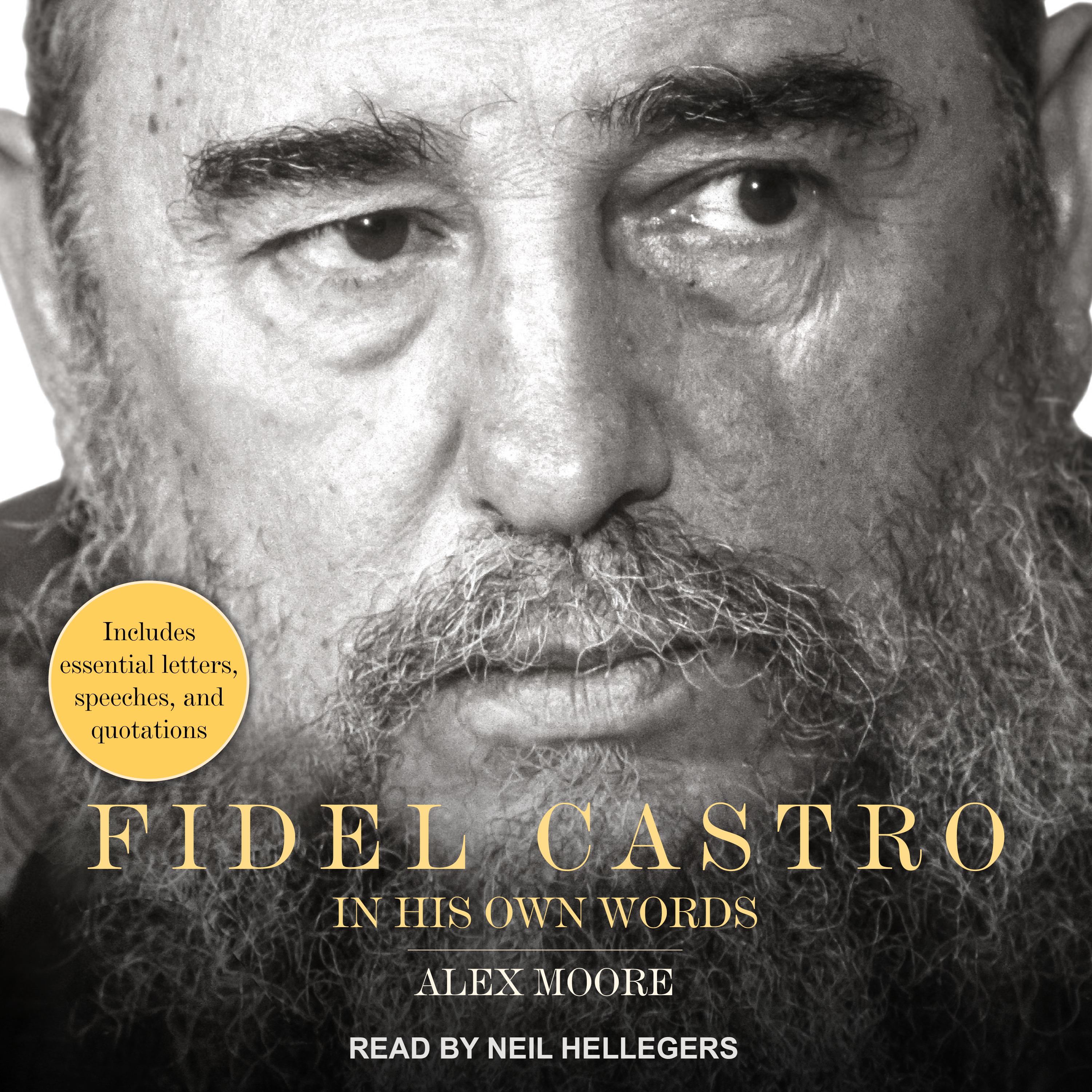 Printable Fidel Castro: In His Own Words Audiobook Cover Art