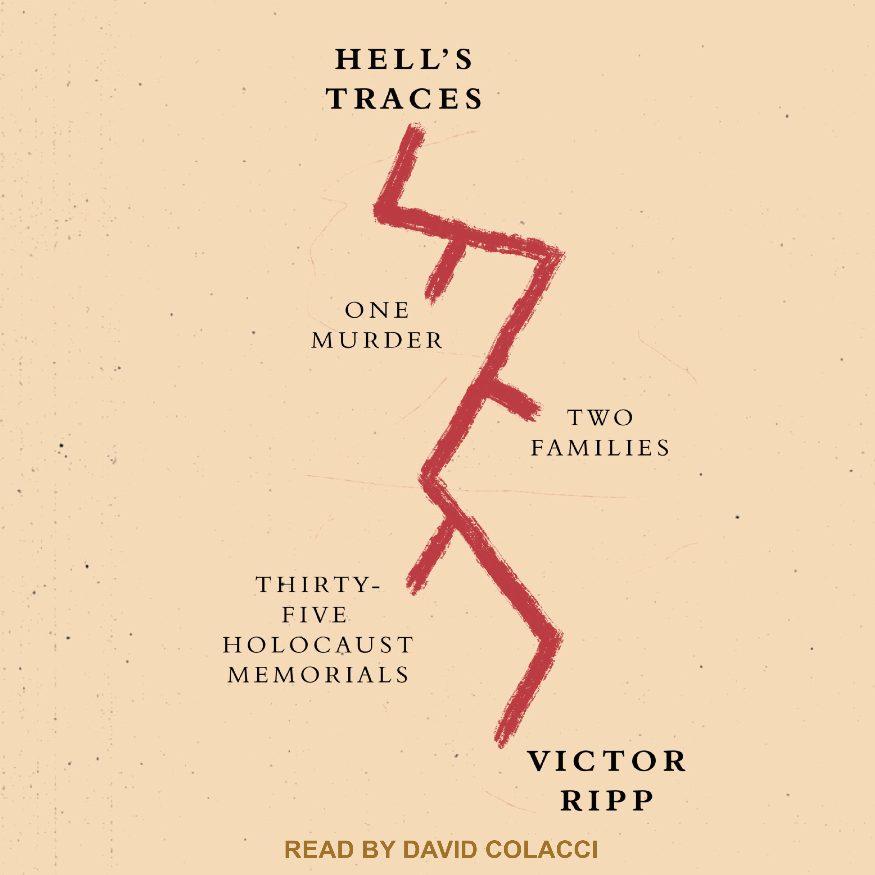 Printable Hell's Traces: One Murder, Two Families, Thirty-Five Holocaust Memorials Audiobook Cover Art