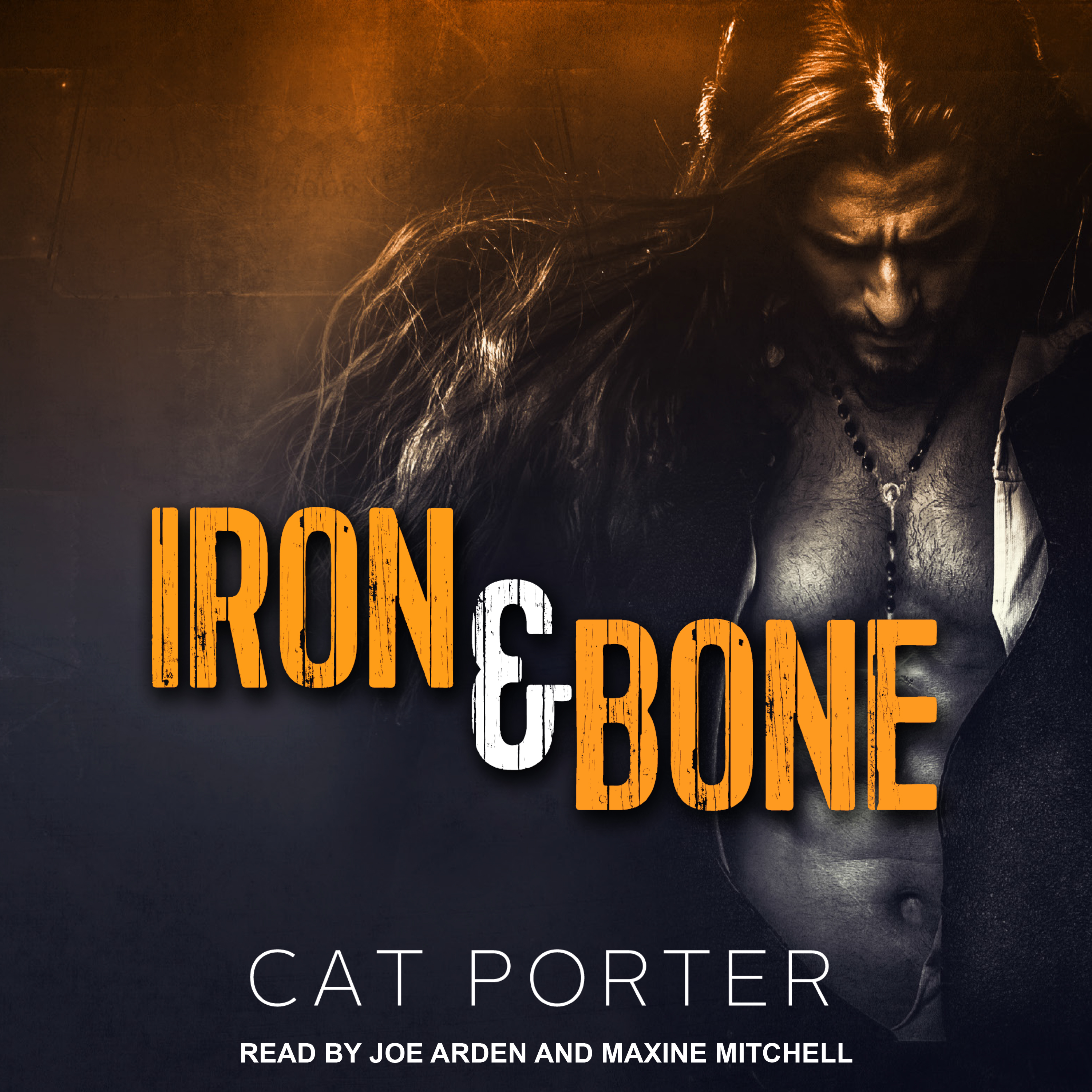Printable Iron & Bone Audiobook Cover Art