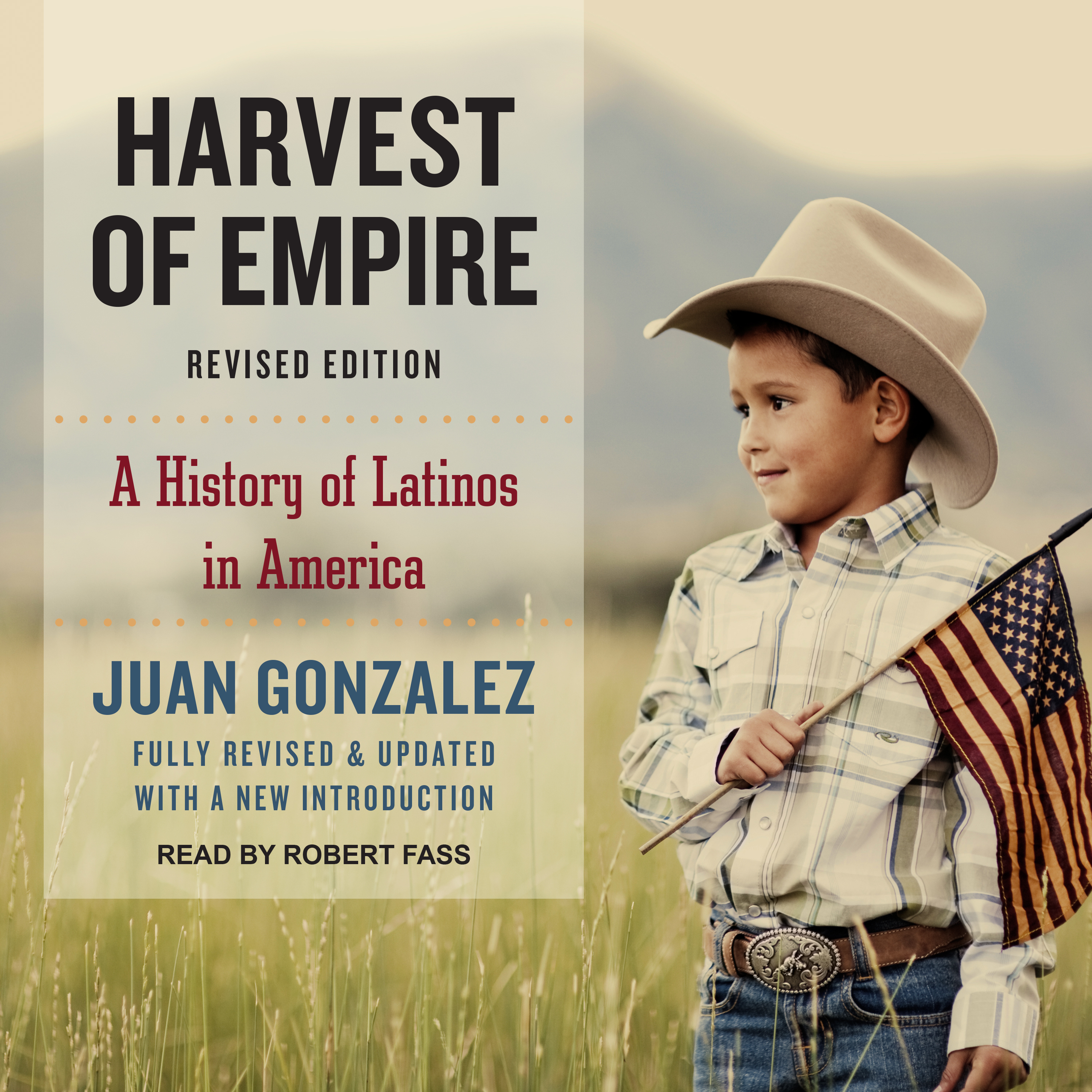 Printable Harvest of Empire: A History of Latinos in America Audiobook Cover Art