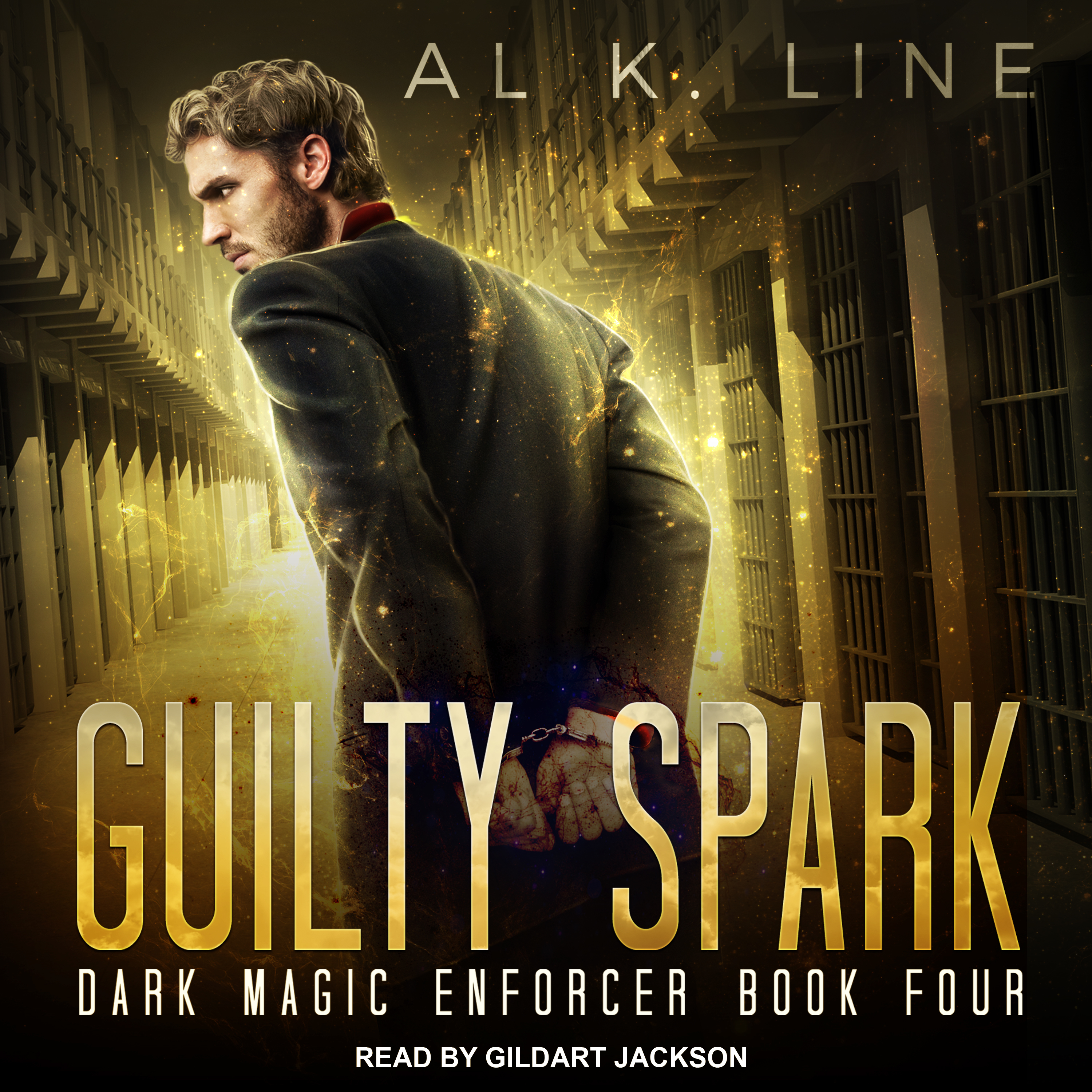 Printable Guilty Spark Audiobook Cover Art
