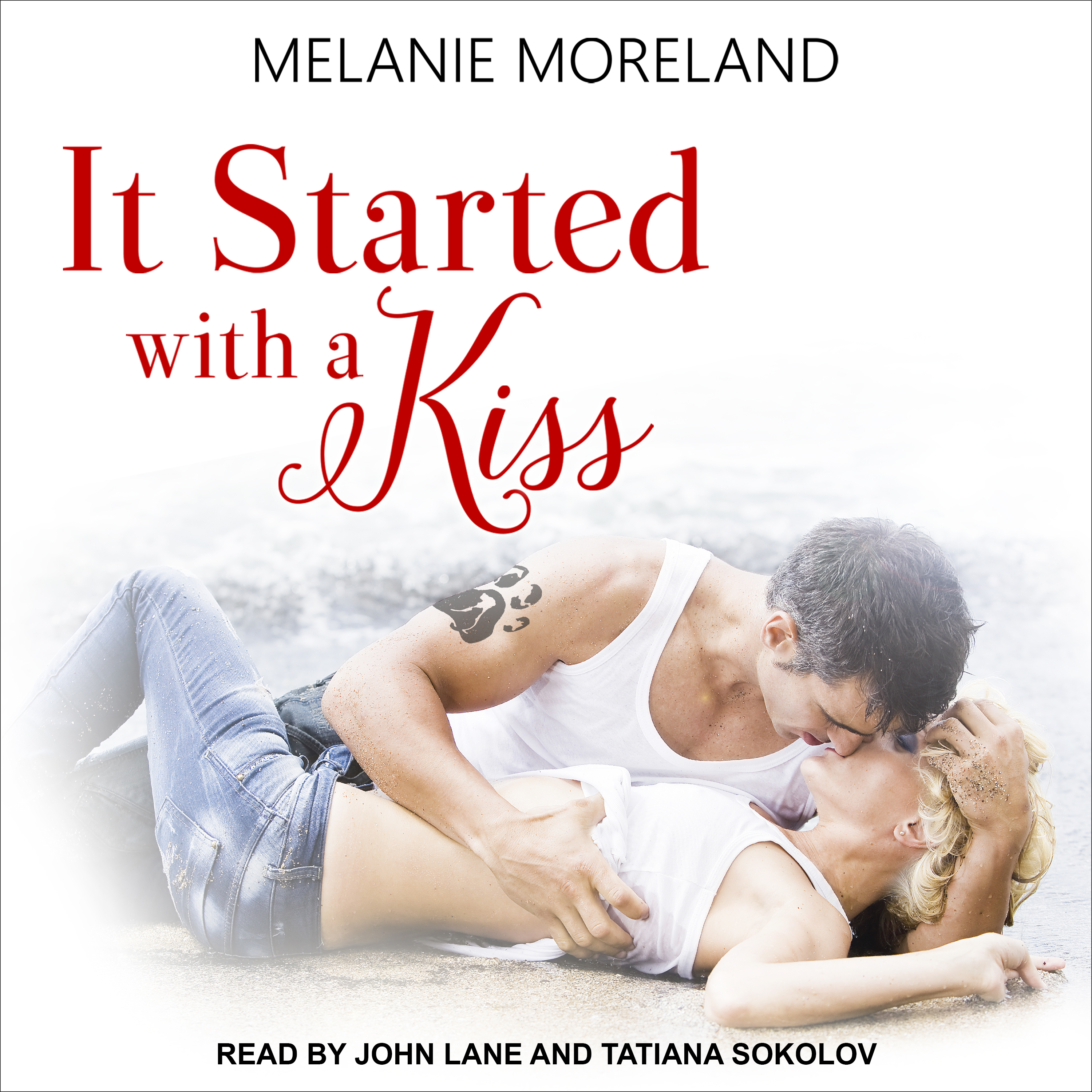 Printable It Started with a Kiss  Audiobook Cover Art