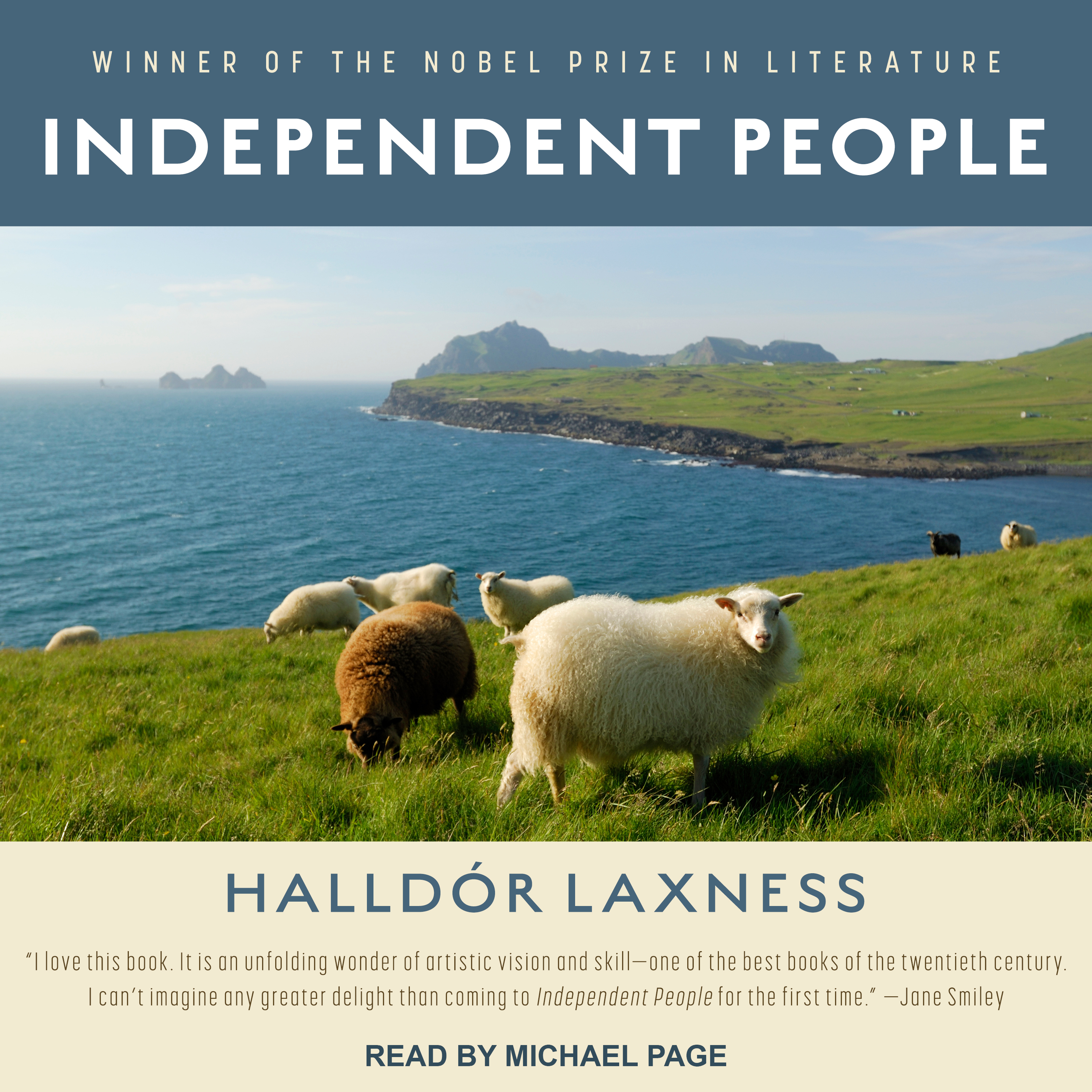 Printable Independent People Audiobook Cover Art