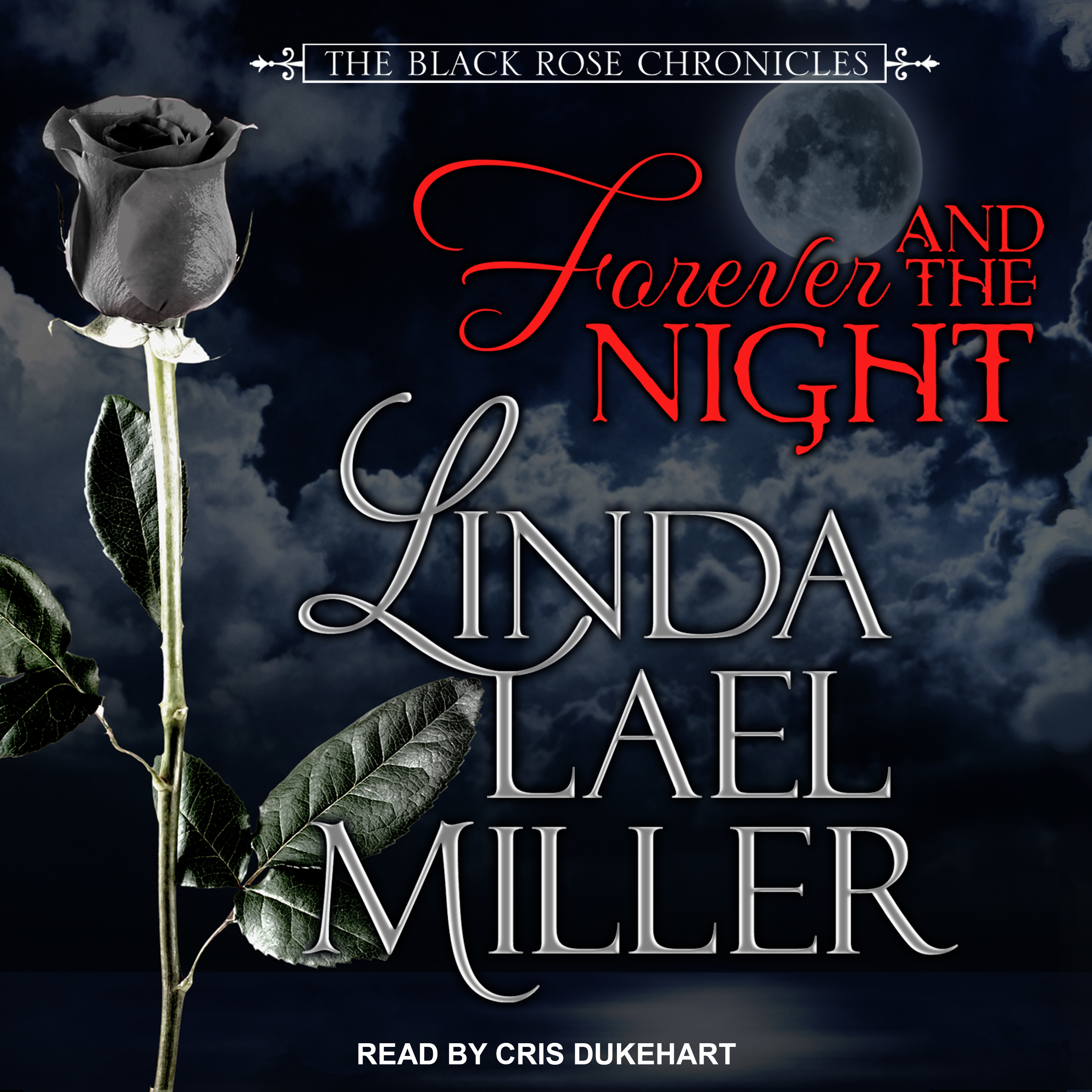 Printable Forever and the Night Audiobook Cover Art