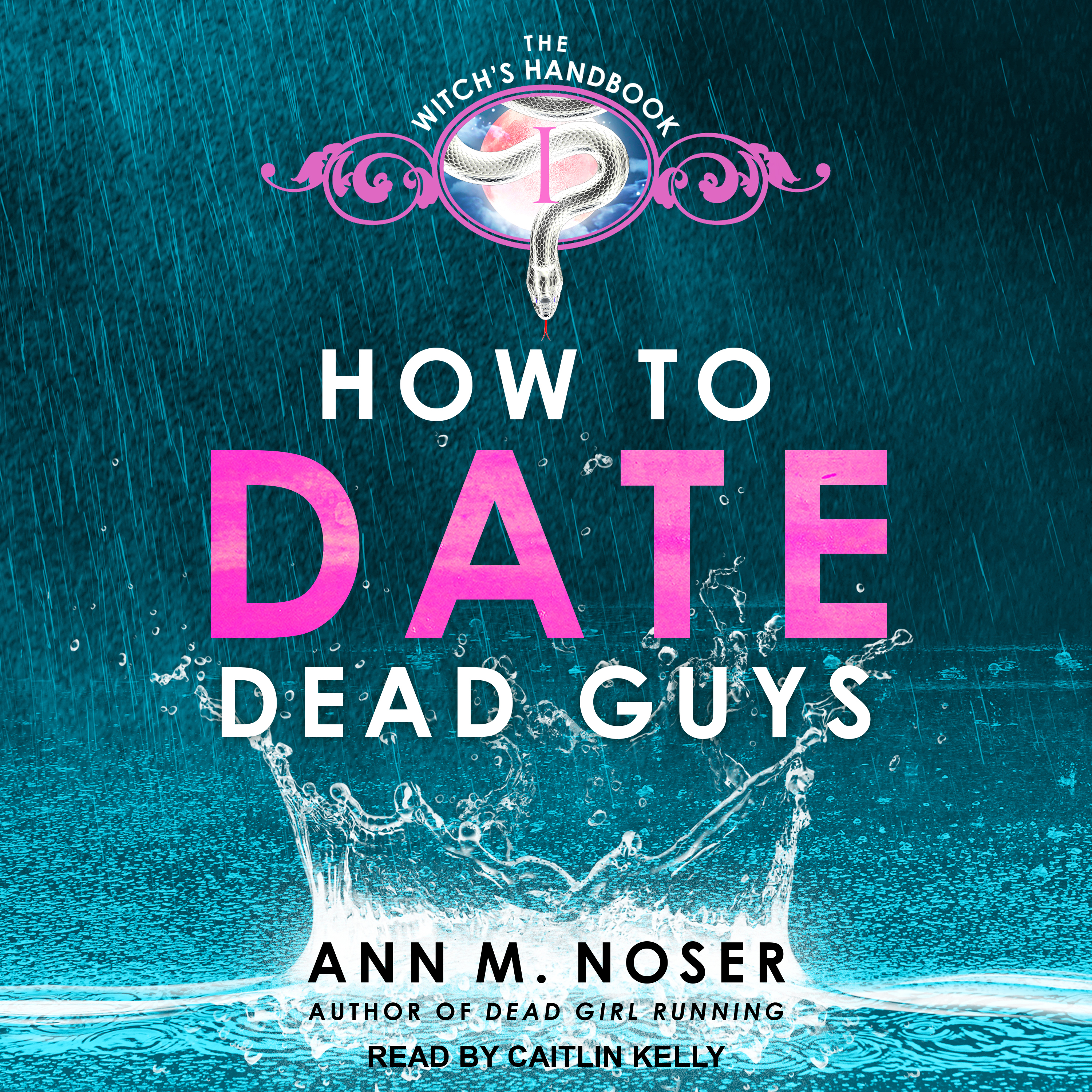 Printable How to Date Dead Guys Audiobook Cover Art