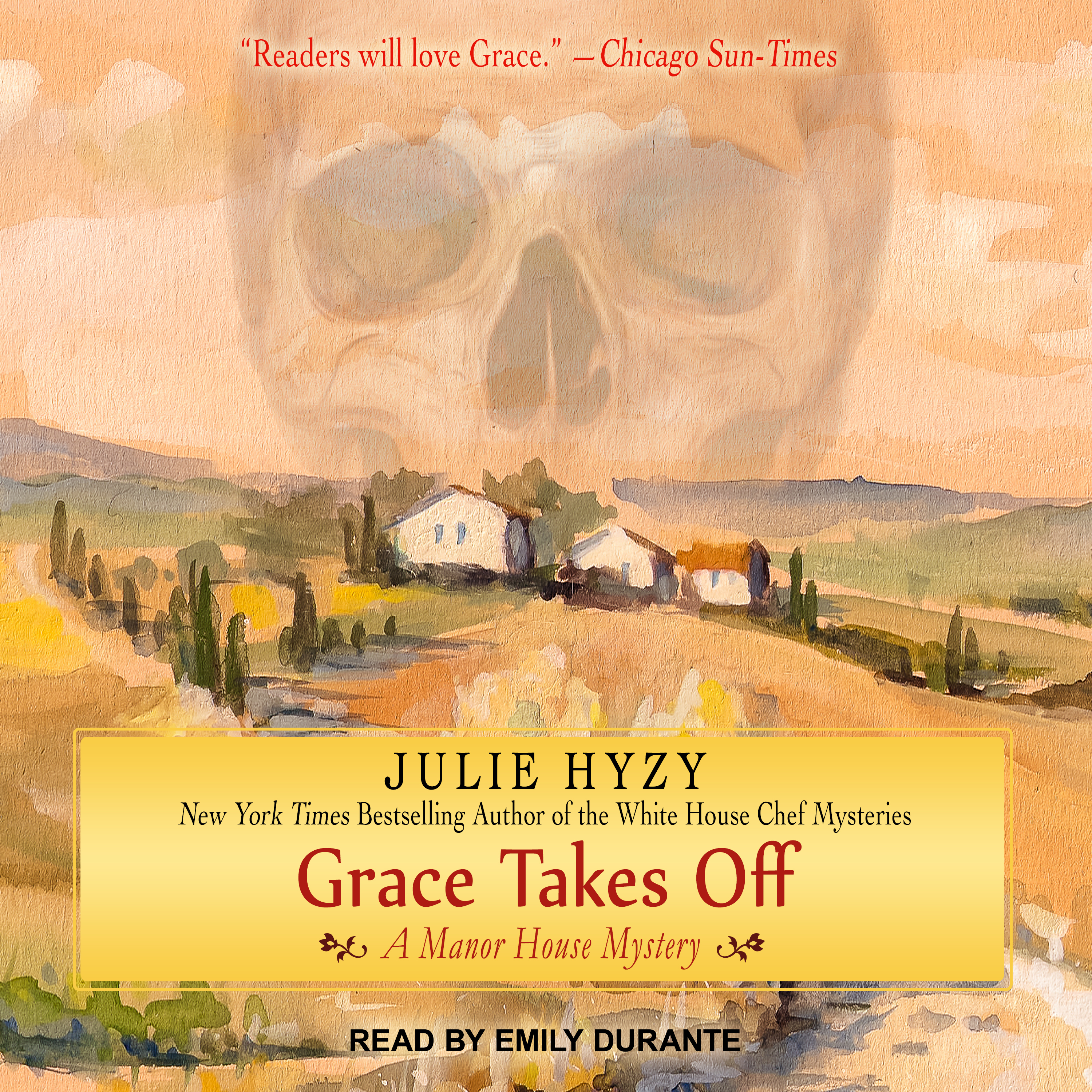 Printable Grace Takes Off Audiobook Cover Art