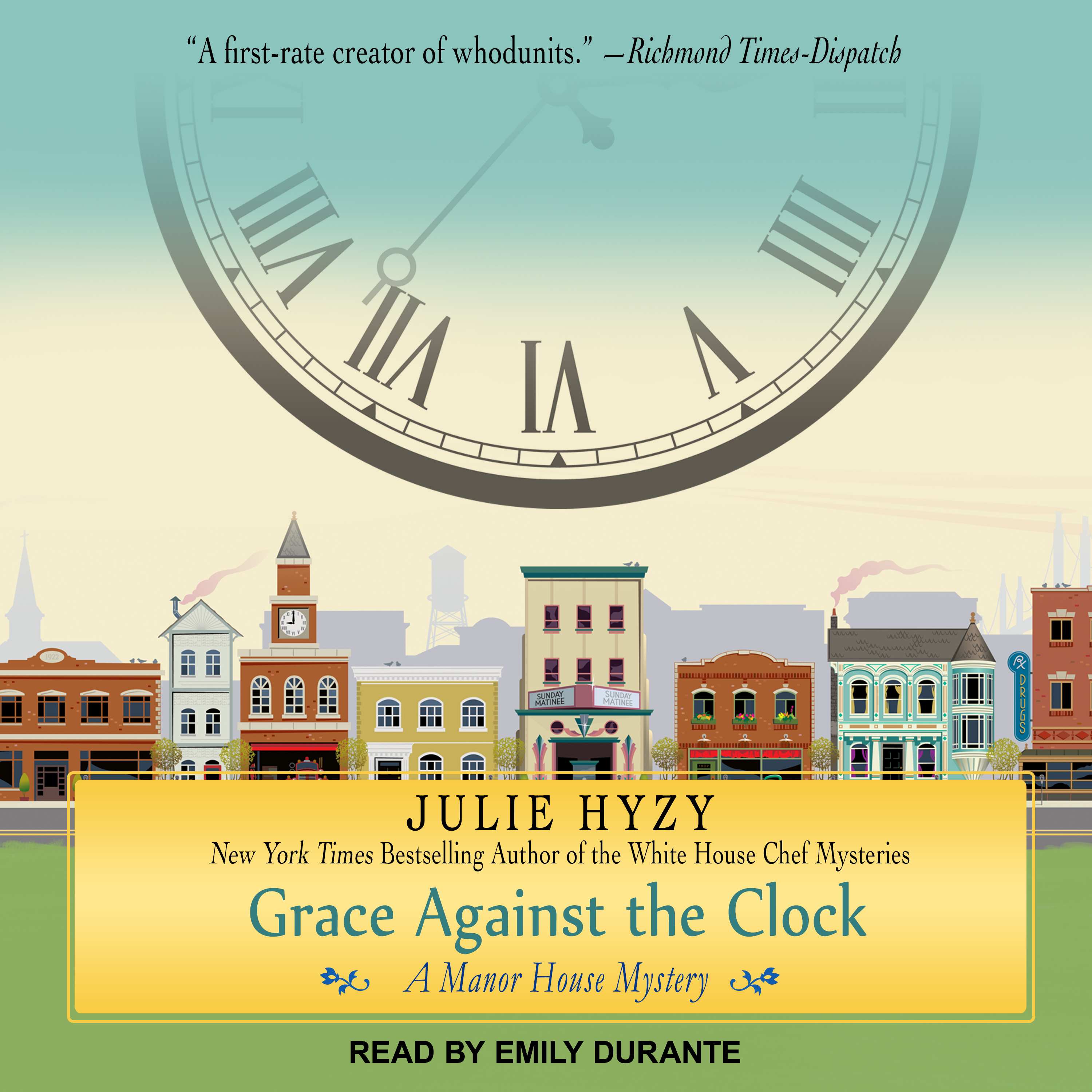 Printable Grace Against the Clock Audiobook Cover Art
