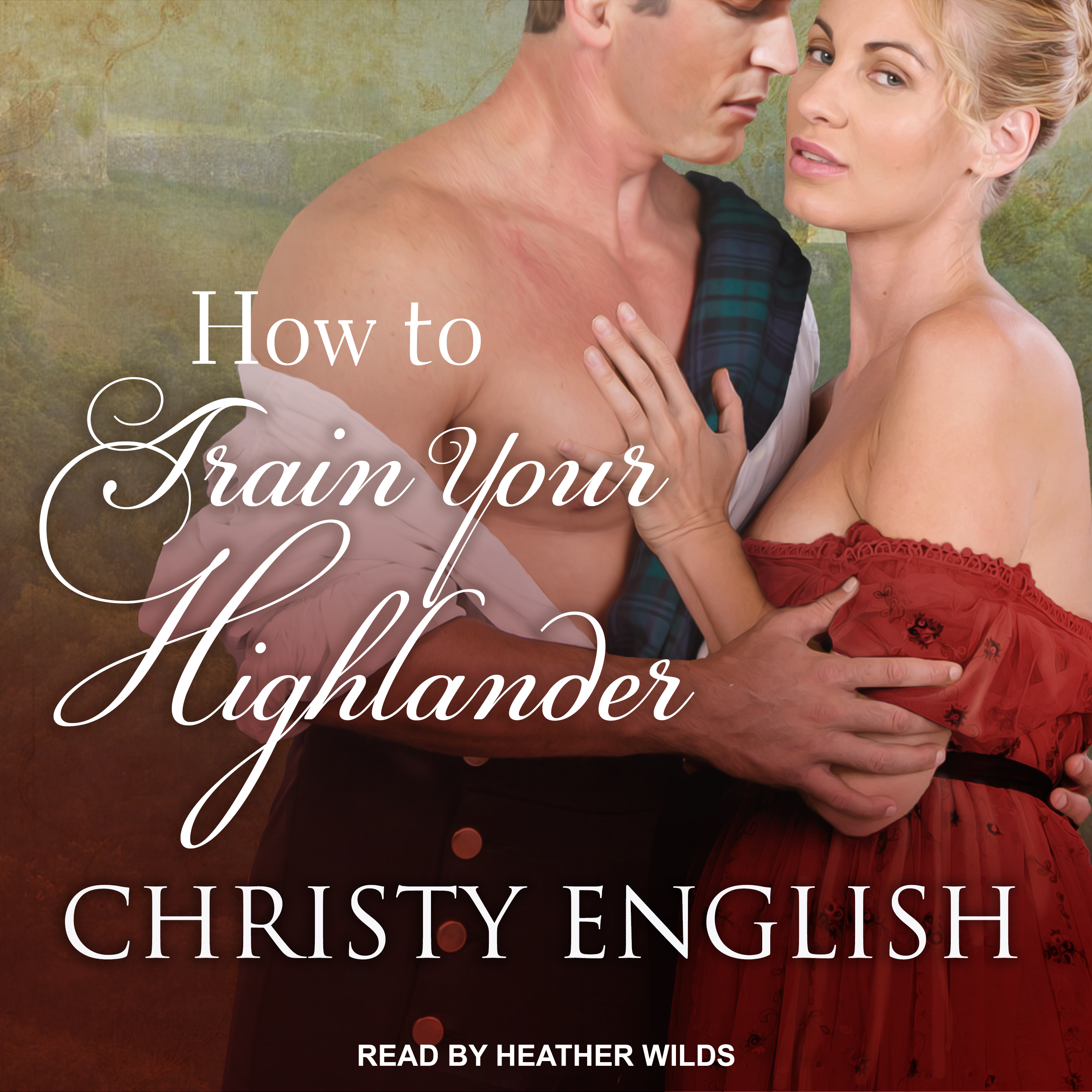 Printable How to Train your Highlander Audiobook Cover Art