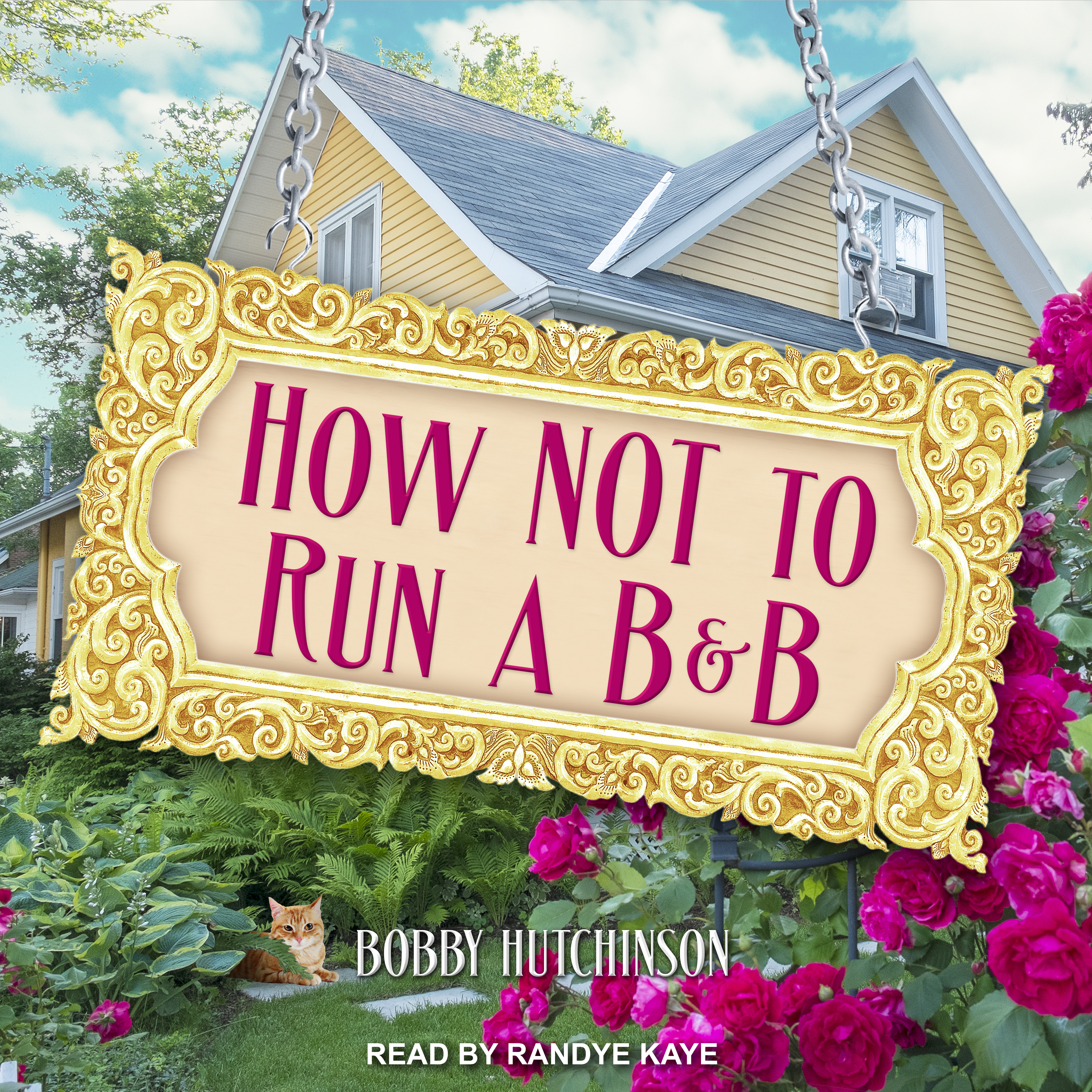 Printable How Not To Run A B&B  Audiobook Cover Art