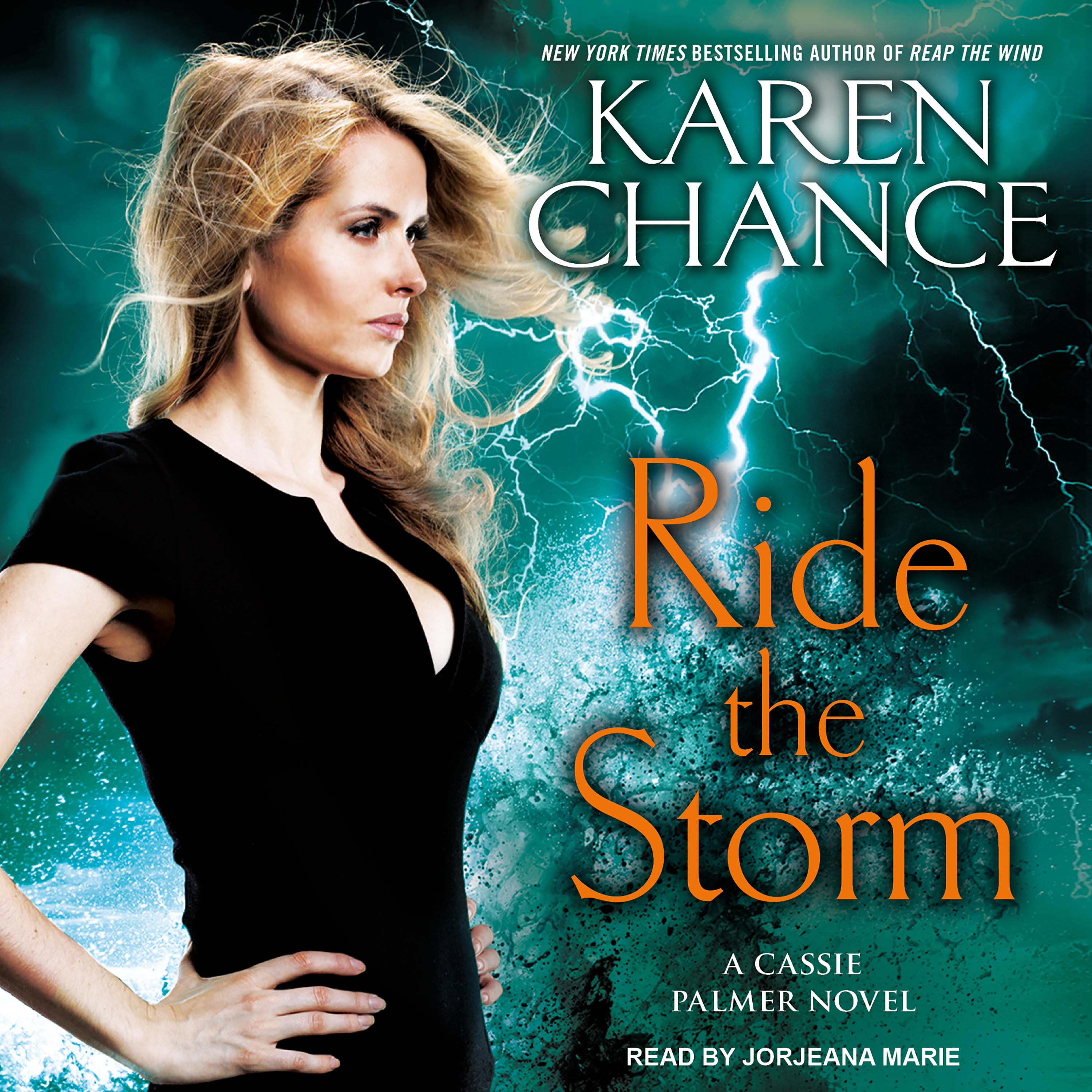 Printable Ride the Storm Audiobook Cover Art
