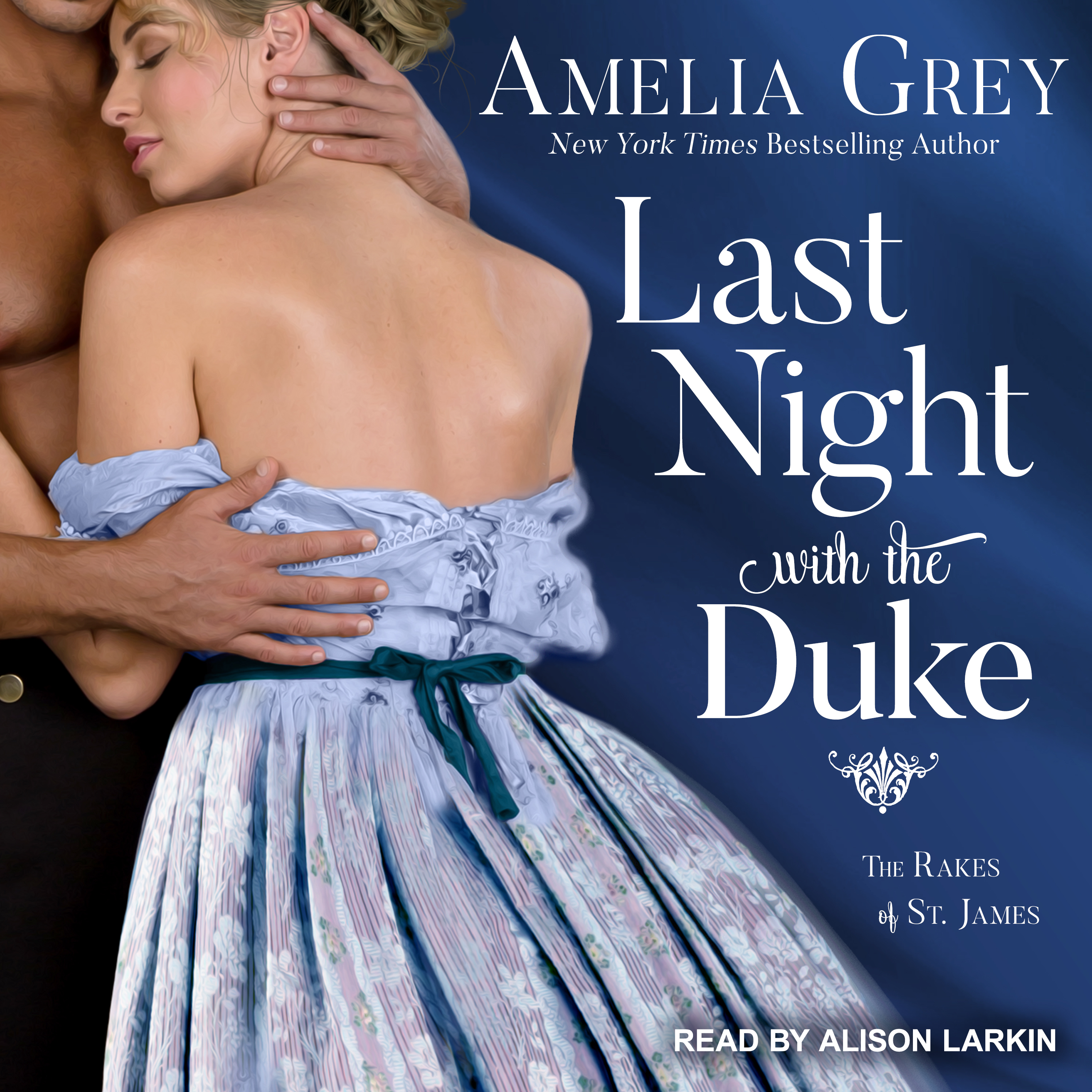 Printable Last Night with the Duke Audiobook Cover Art