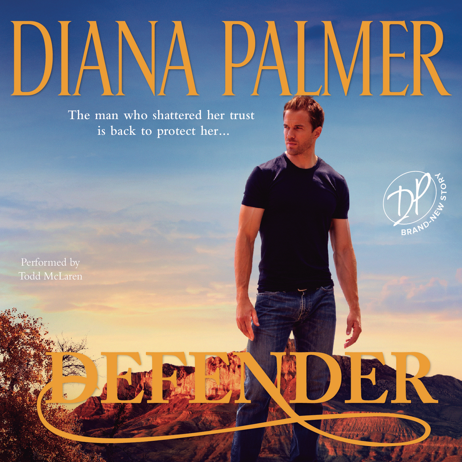 Printable Defender Audiobook Cover Art