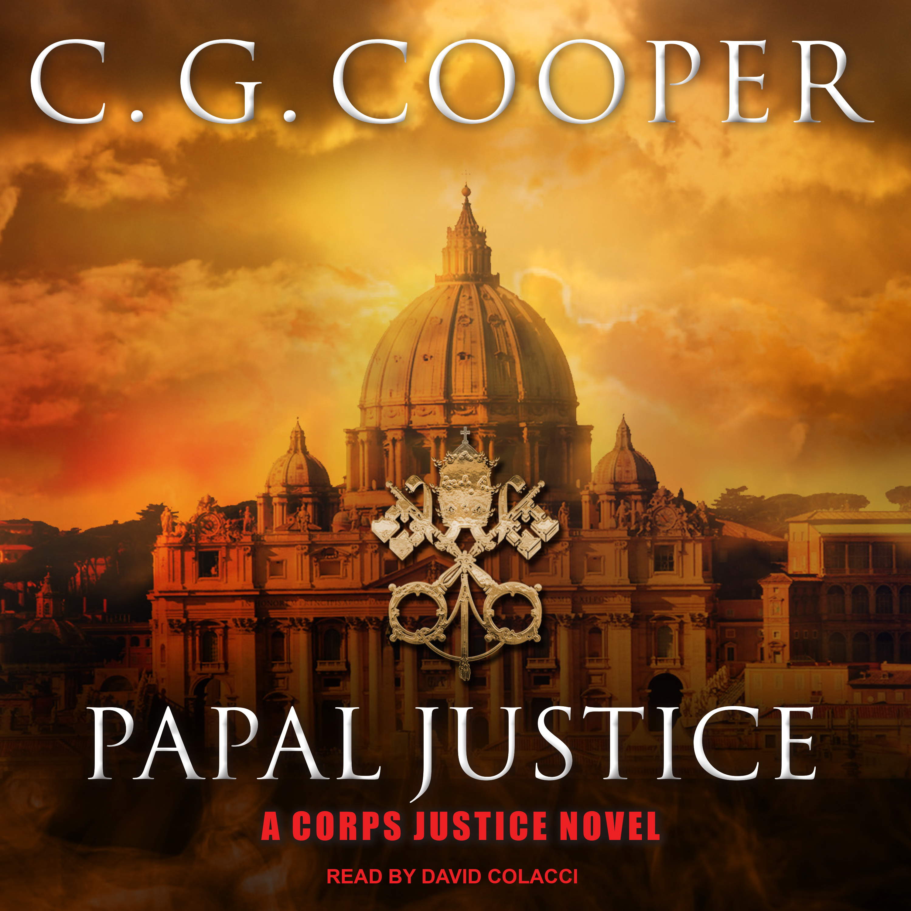 Printable Papal Justice Audiobook Cover Art