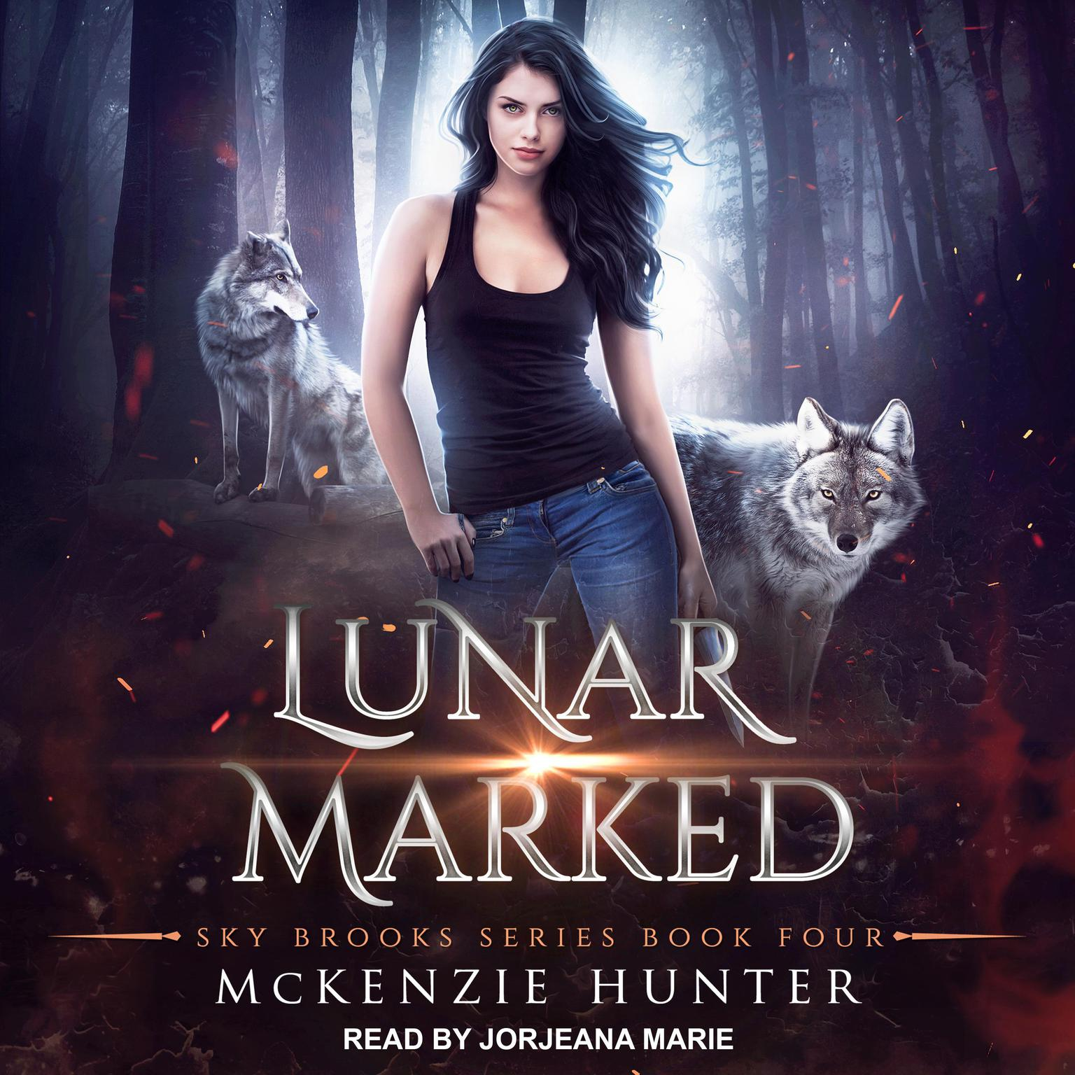 Printable Lunar Marked Audiobook Cover Art