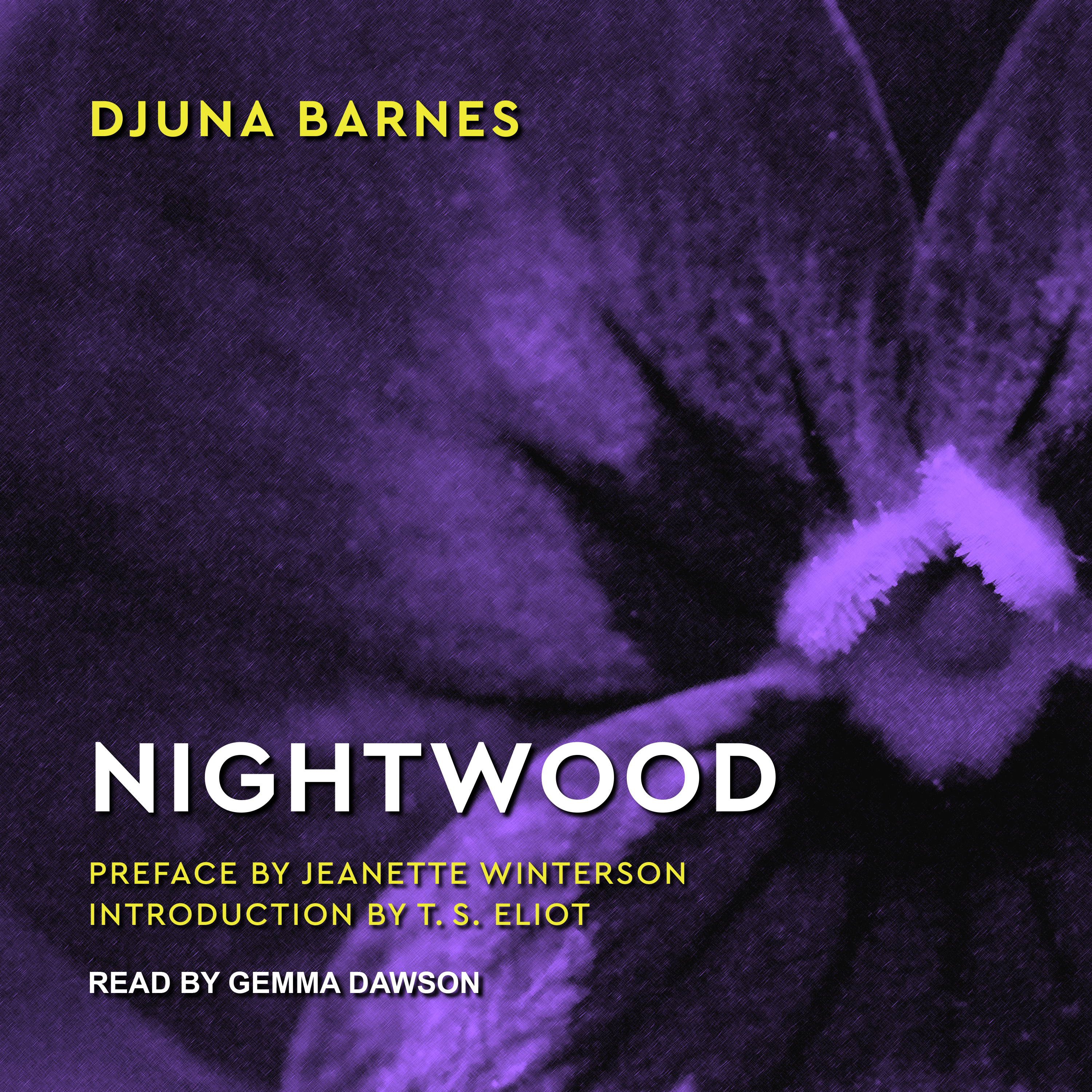 Printable Nightwood Audiobook Cover Art