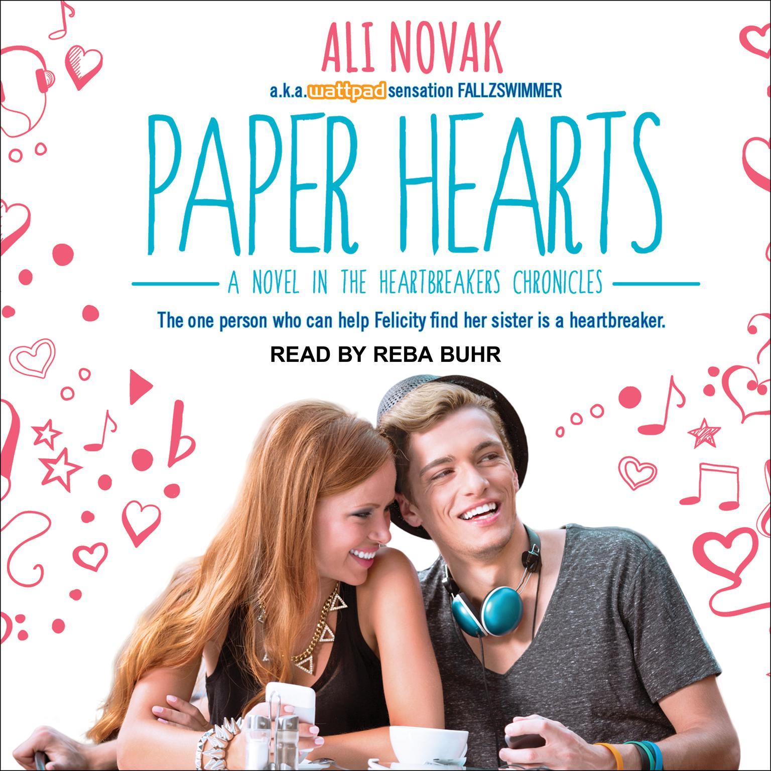 Paper Hearts Audiobook, by Ali Novak