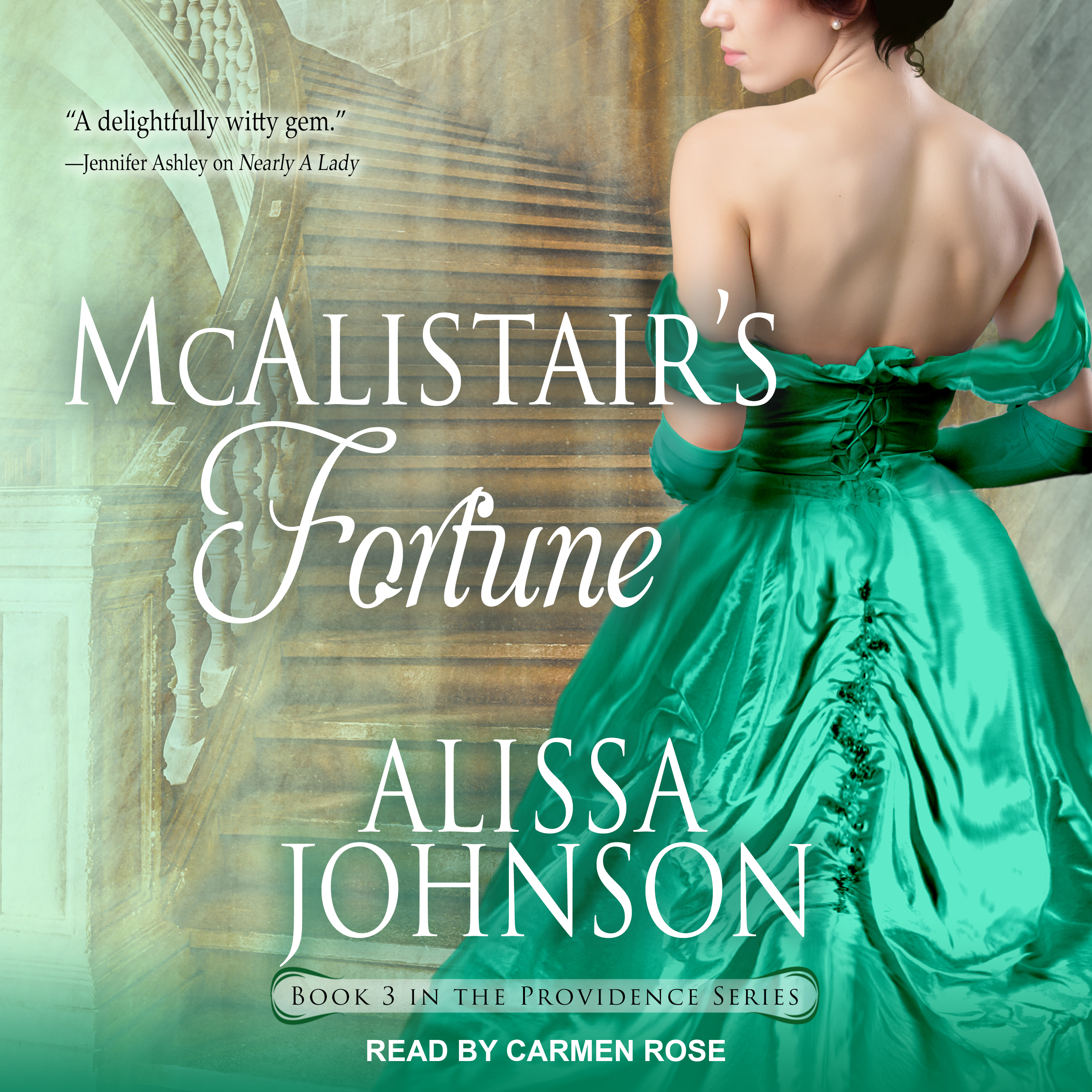 Printable McAlistair's Fortune Audiobook Cover Art
