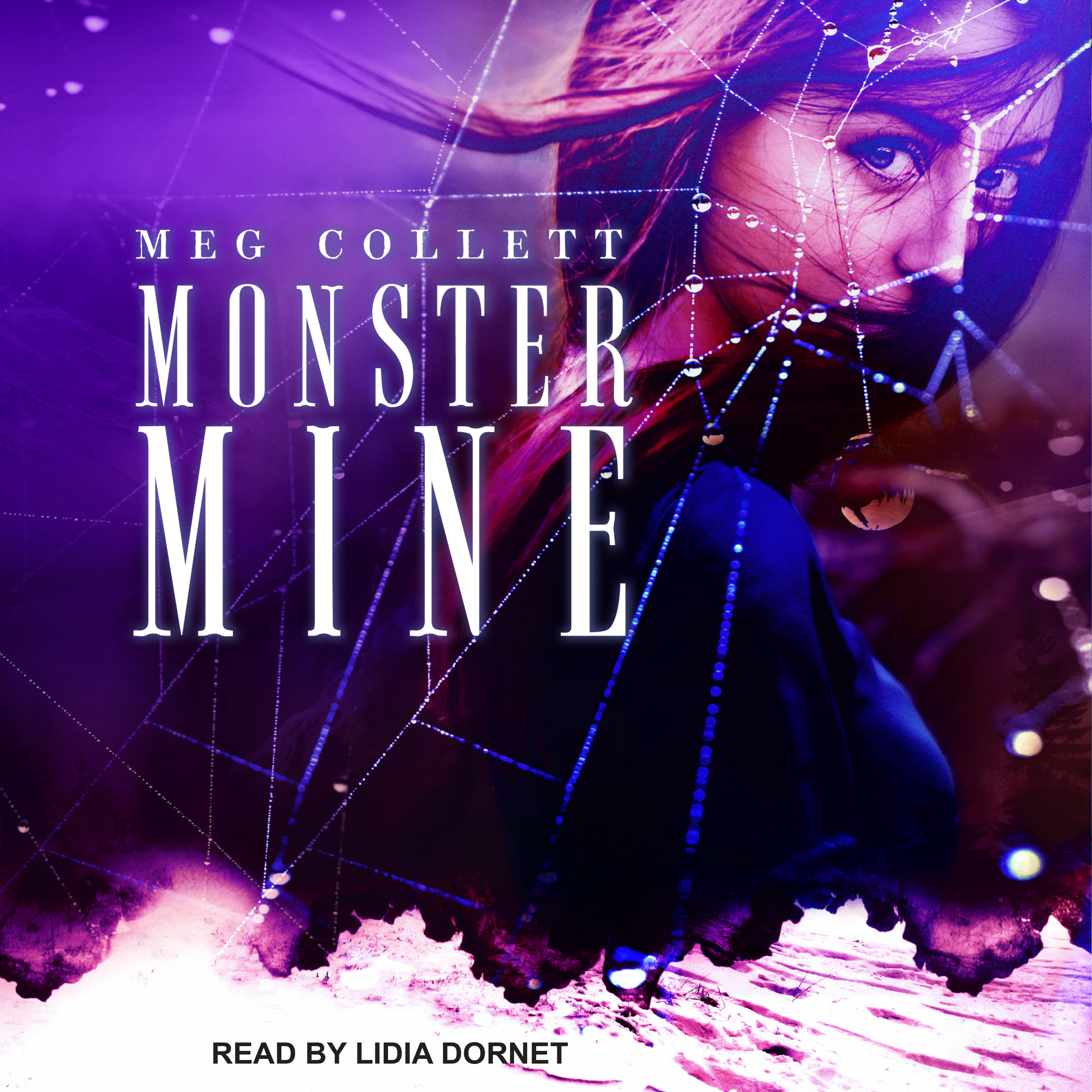 Printable Monster Mine Audiobook Cover Art