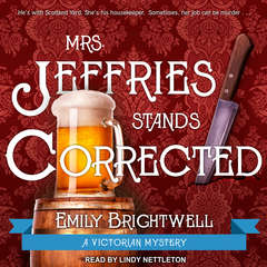 Mrs. Jeffries Stands Corrected Audiobook, by Emily Brightwell