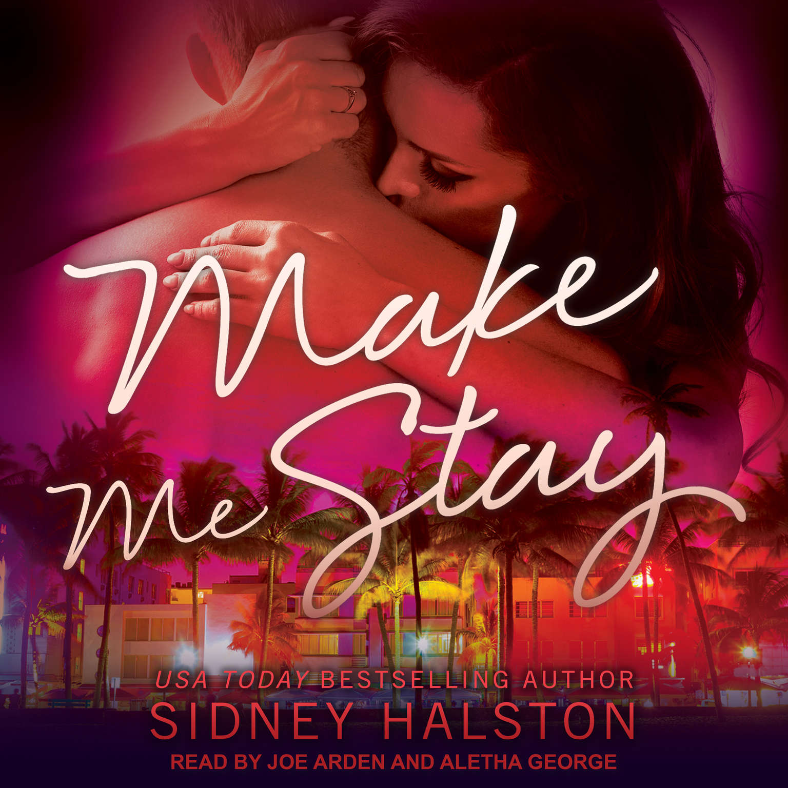 Printable Make Me Stay Audiobook Cover Art
