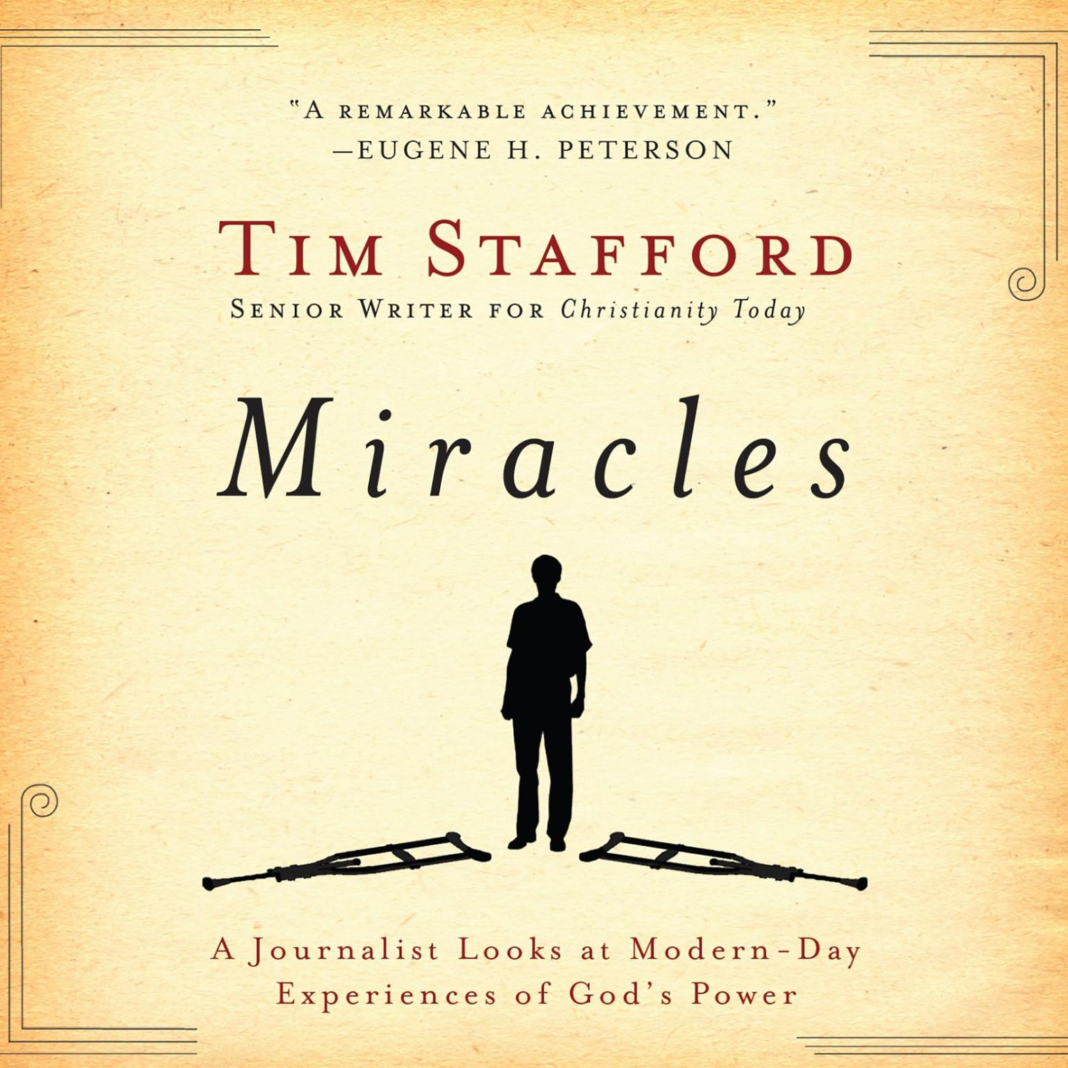 Printable Miracles: A Journalist Looks at Modern Day Experiences of God's Power Audiobook Cover Art