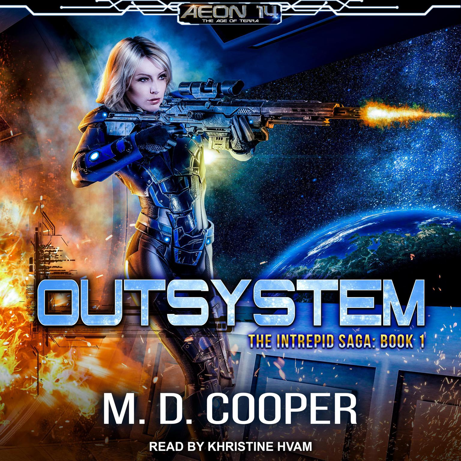 Printable Outsystem Audiobook Cover Art