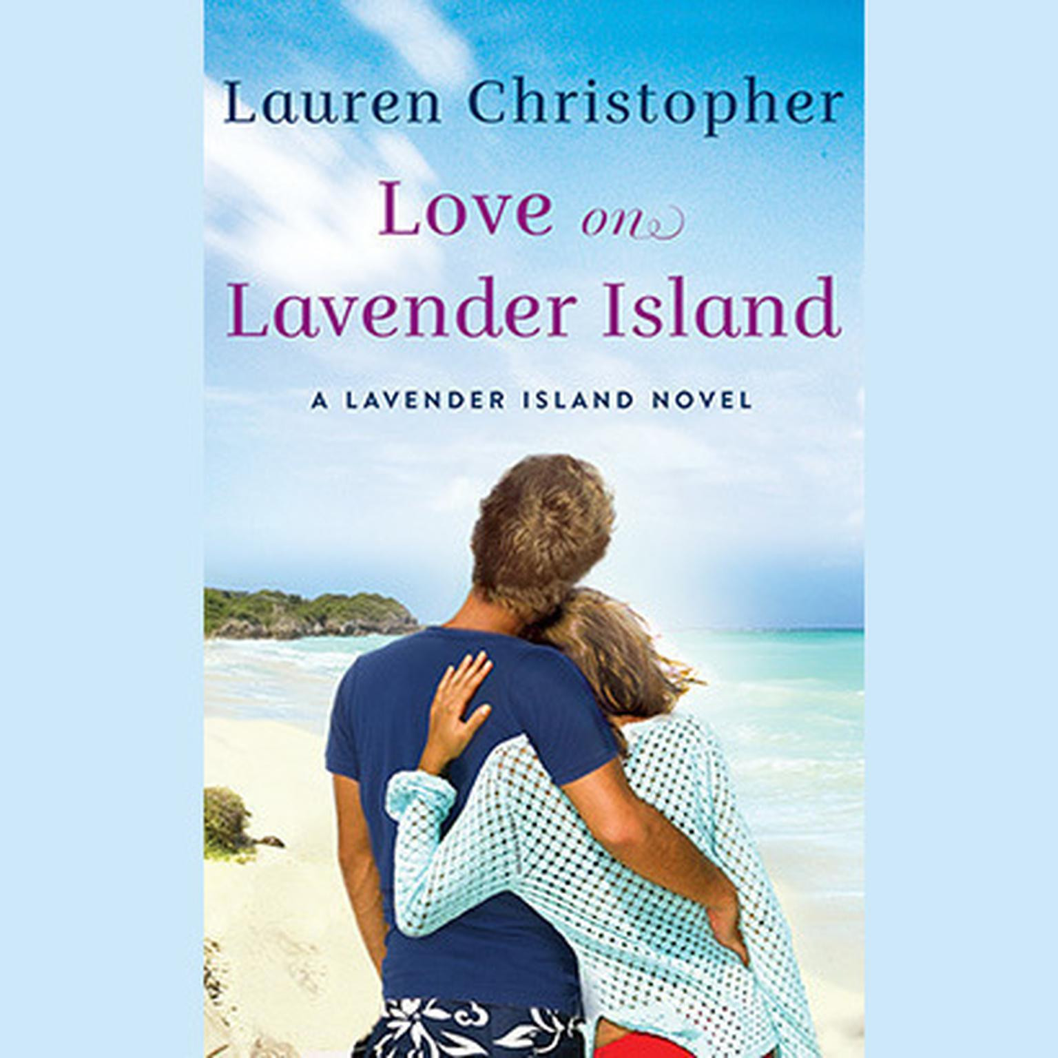 Printable Love on Lavender Island Audiobook Cover Art