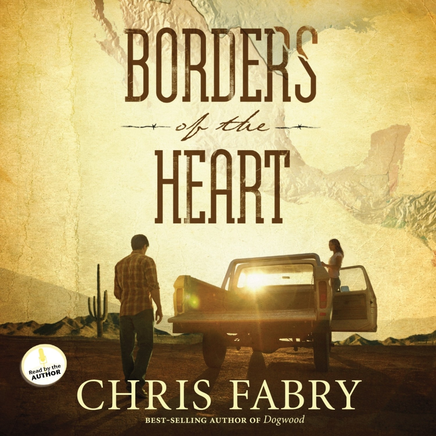 Printable Borders of the Heart Audiobook Cover Art