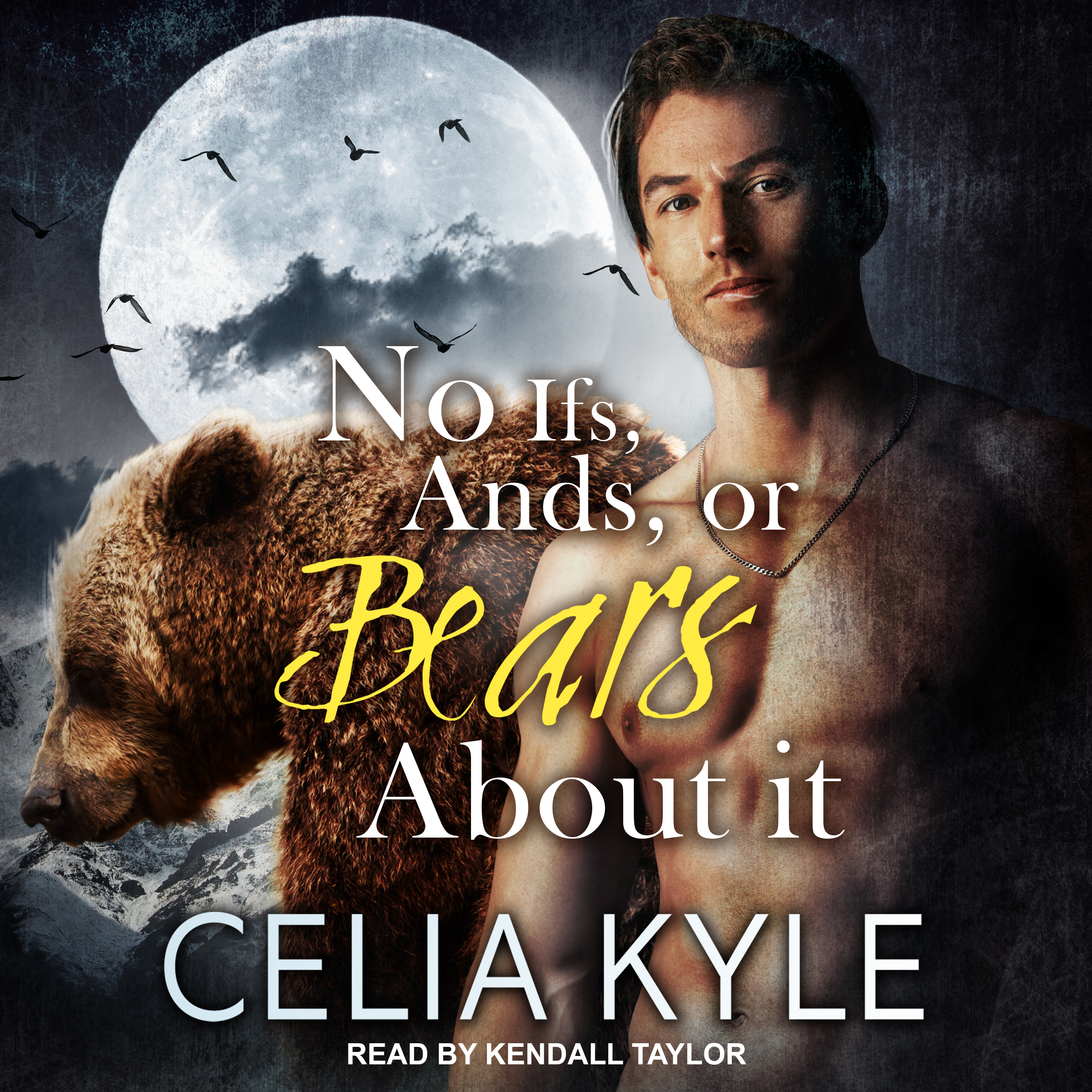 Printable No Ifs, ands, or Bears about it Audiobook Cover Art