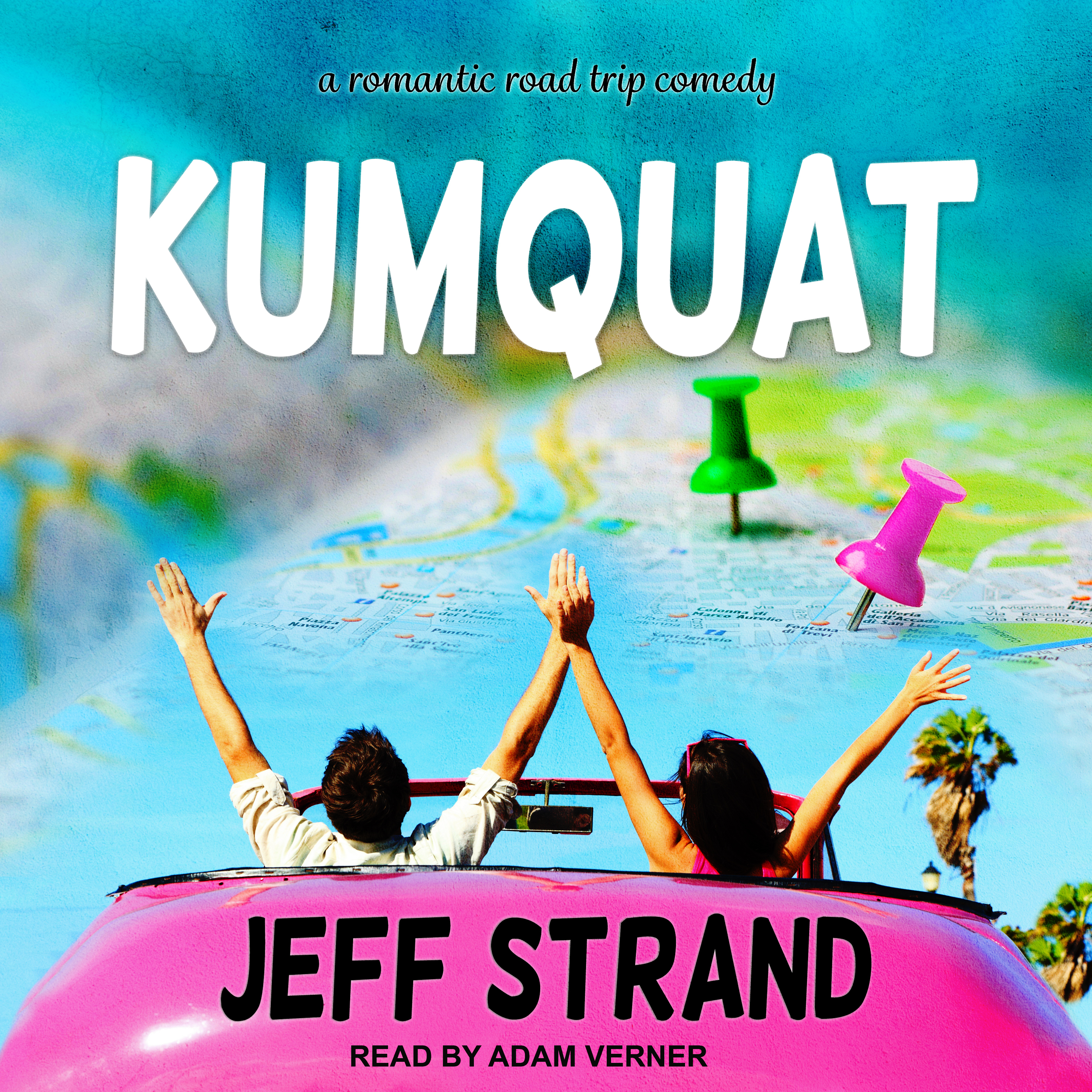 Printable Kumquat Audiobook Cover Art