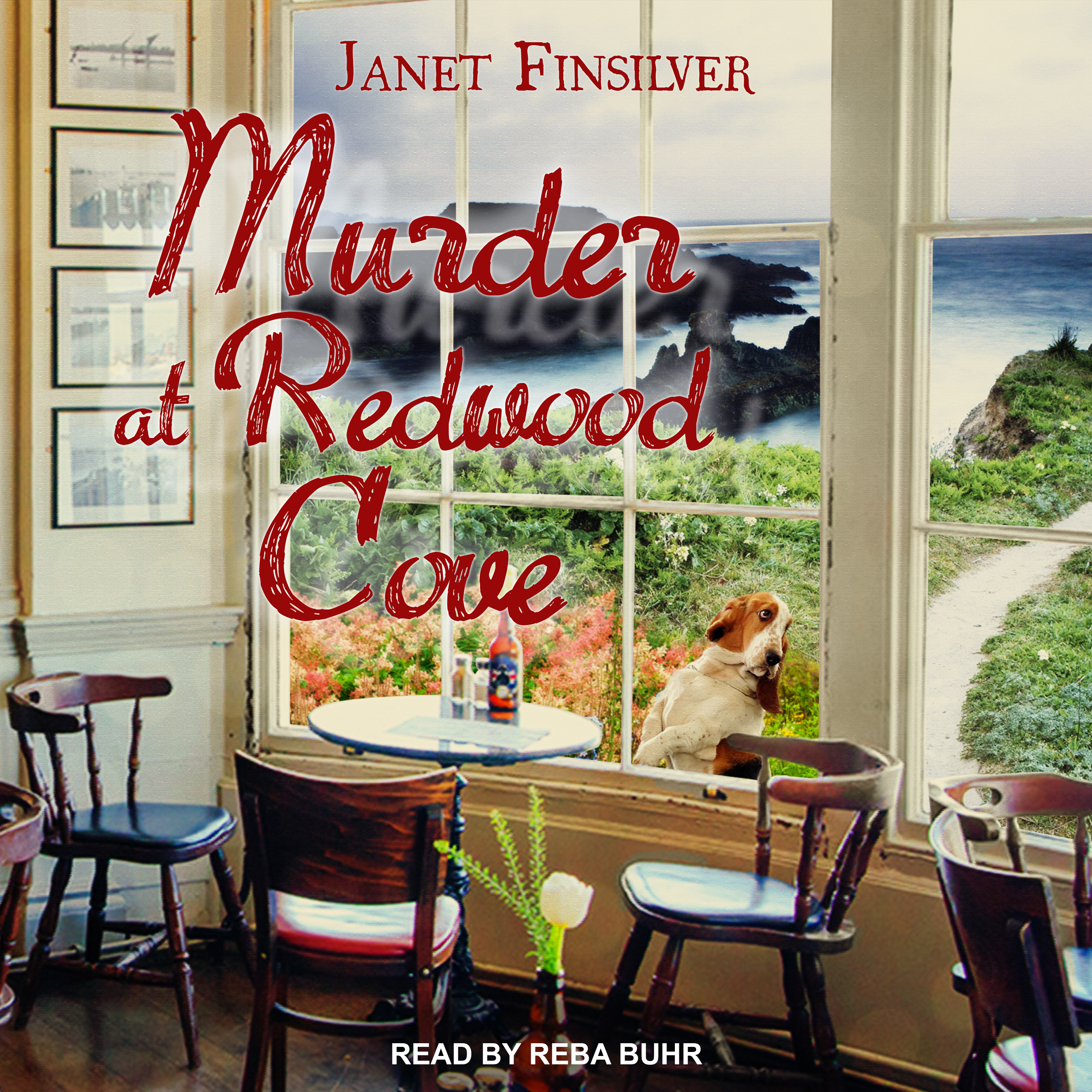 Printable Murder at Redwood Cove Audiobook Cover Art