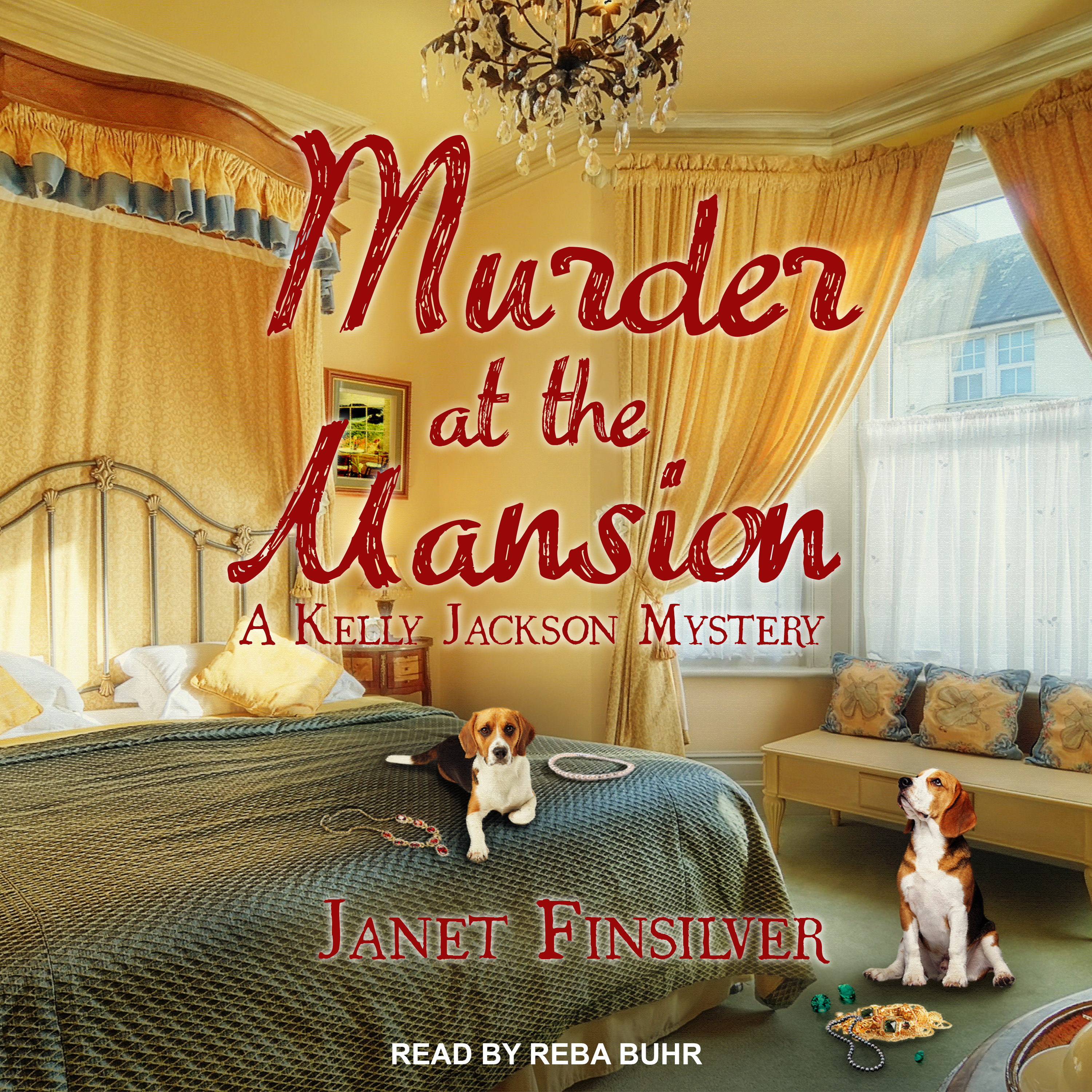 Printable Murder at the Mansion Audiobook Cover Art