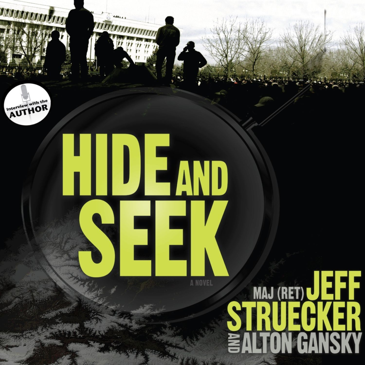 Printable Hide and Seek: A Novel Audiobook Cover Art