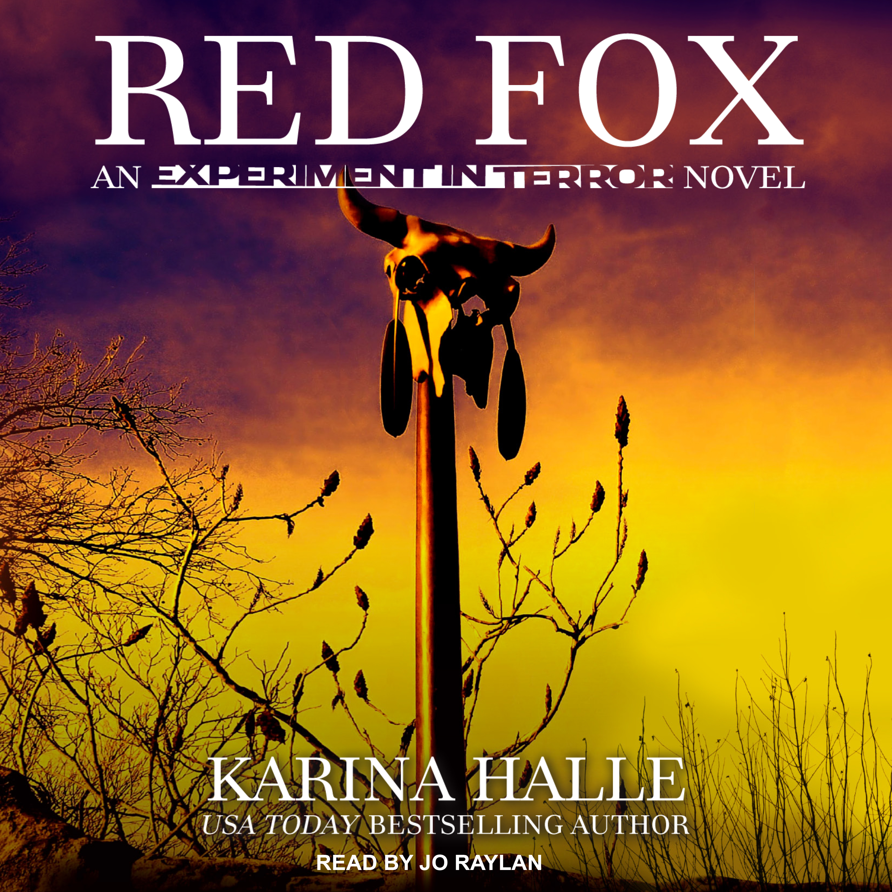 Printable Red Fox Audiobook Cover Art