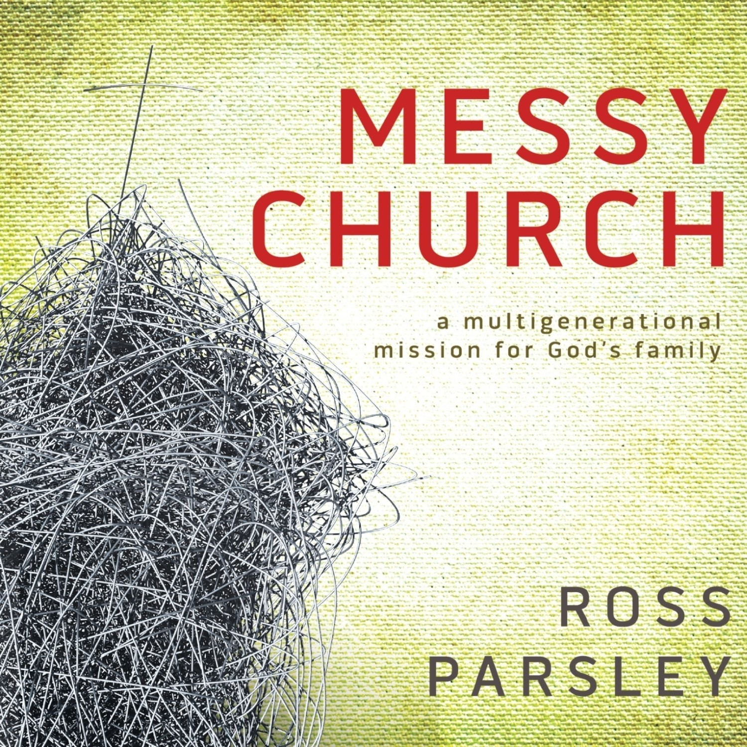 Printable Messy Church: A Multigenerational Mission for God's Family Audiobook Cover Art