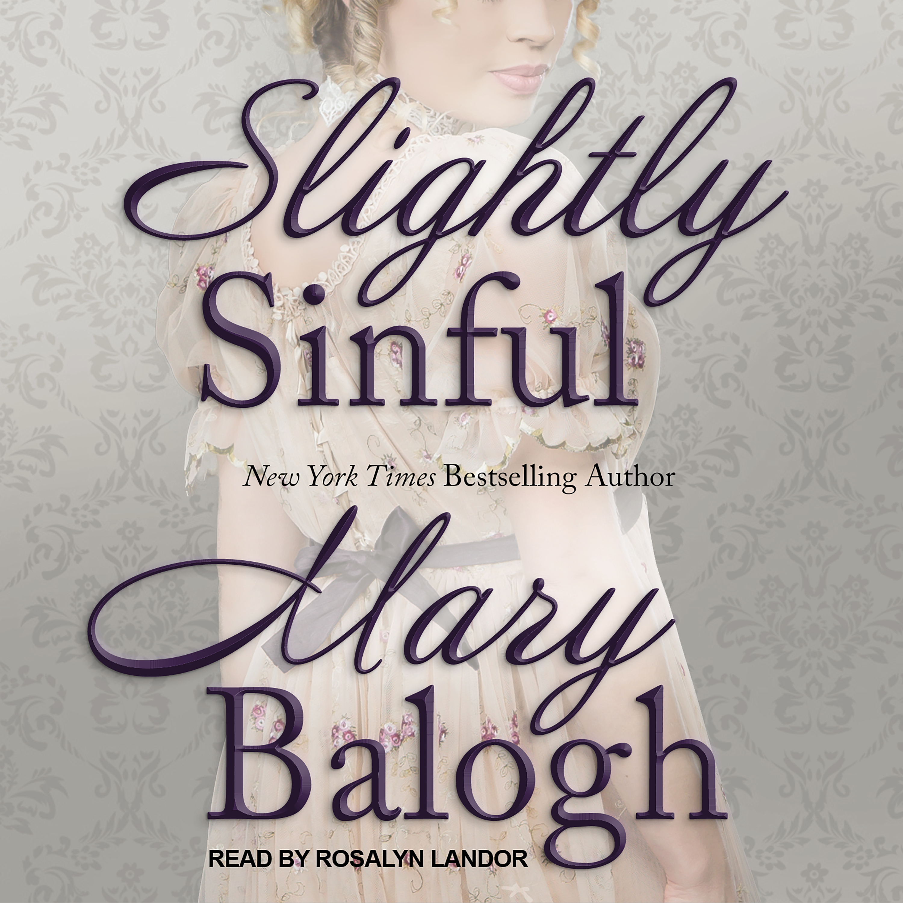 Printable Slightly Sinful Audiobook Cover Art