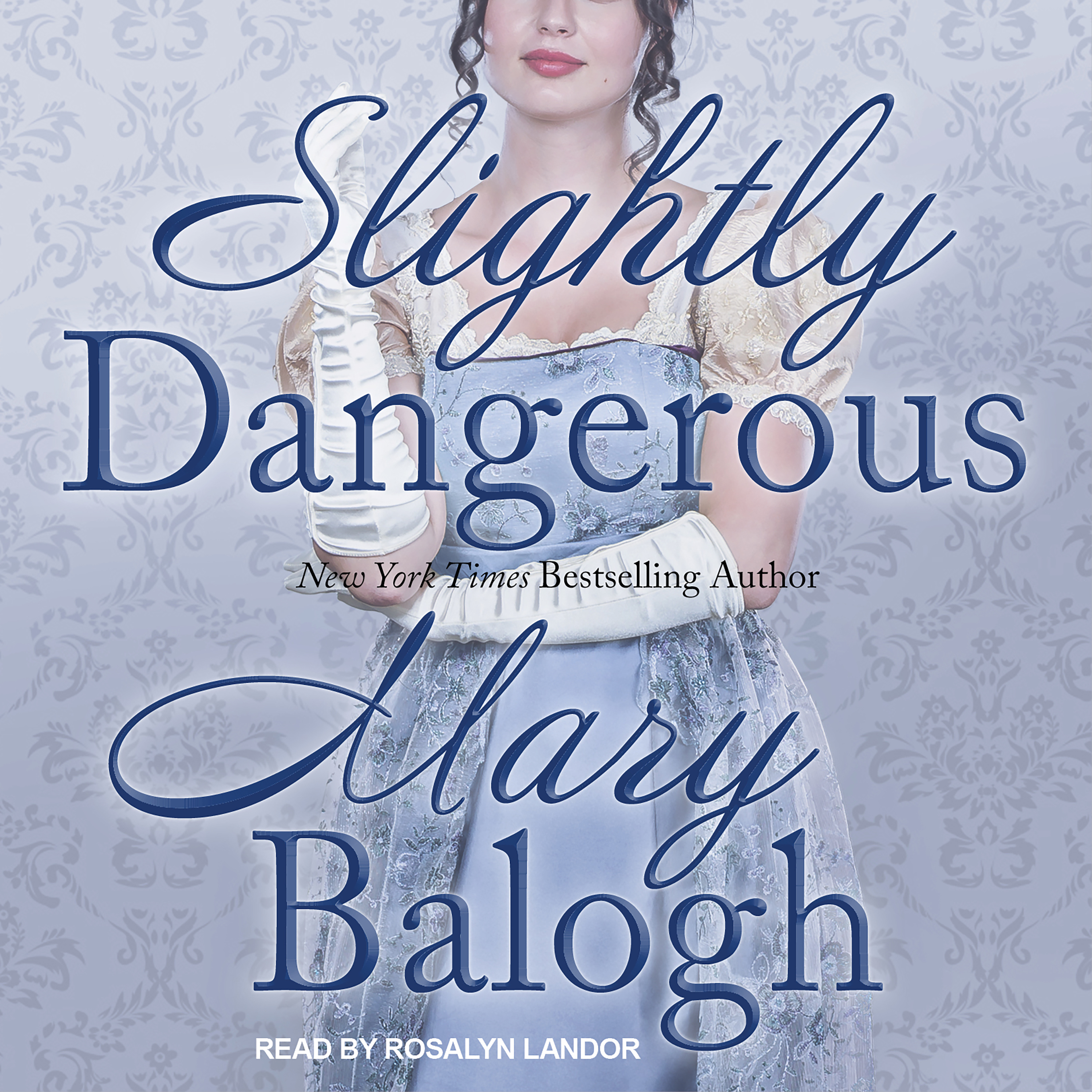 Printable Slightly Dangerous Audiobook Cover Art