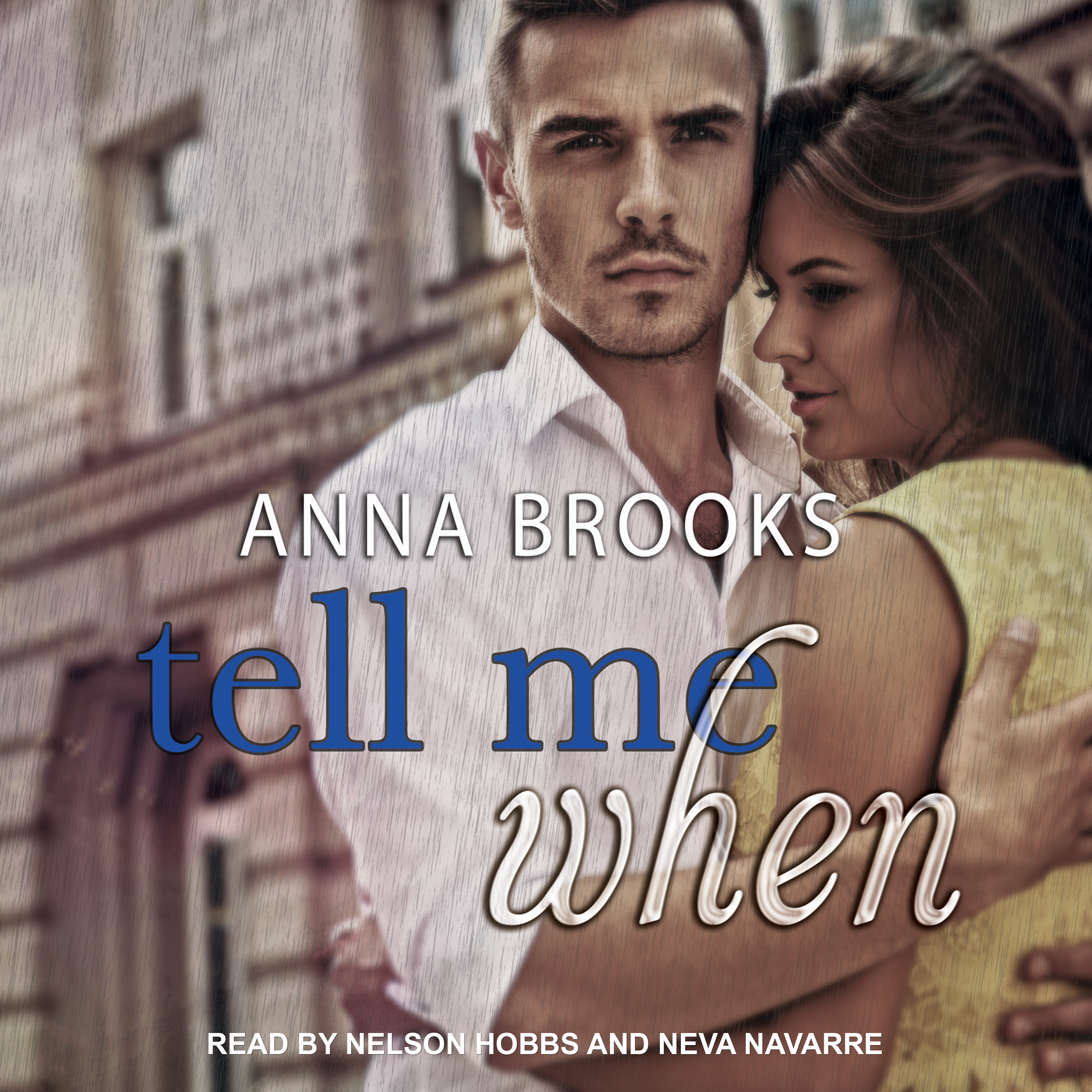 Printable Tell Me When  Audiobook Cover Art
