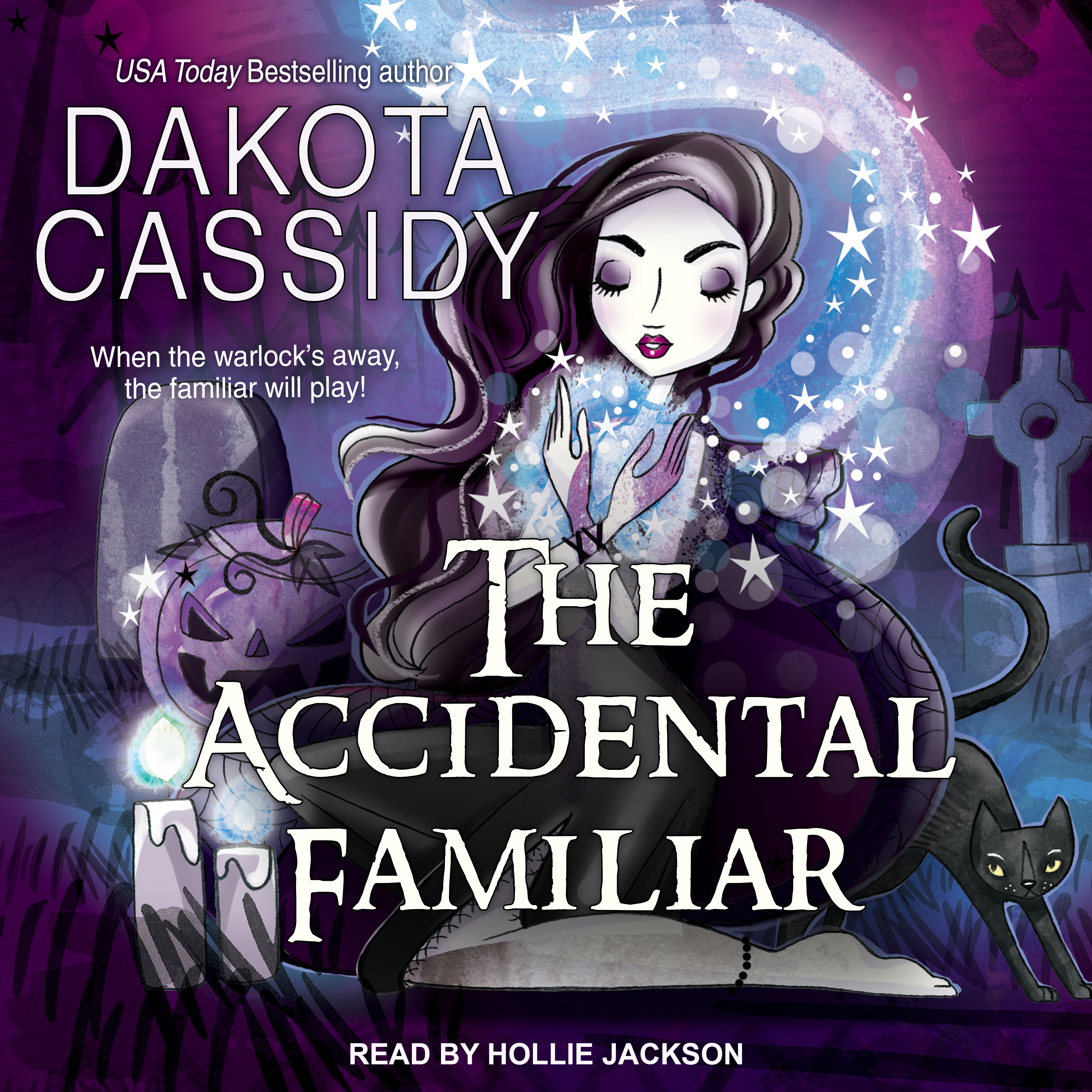Printable The Accidental Familiar Audiobook Cover Art