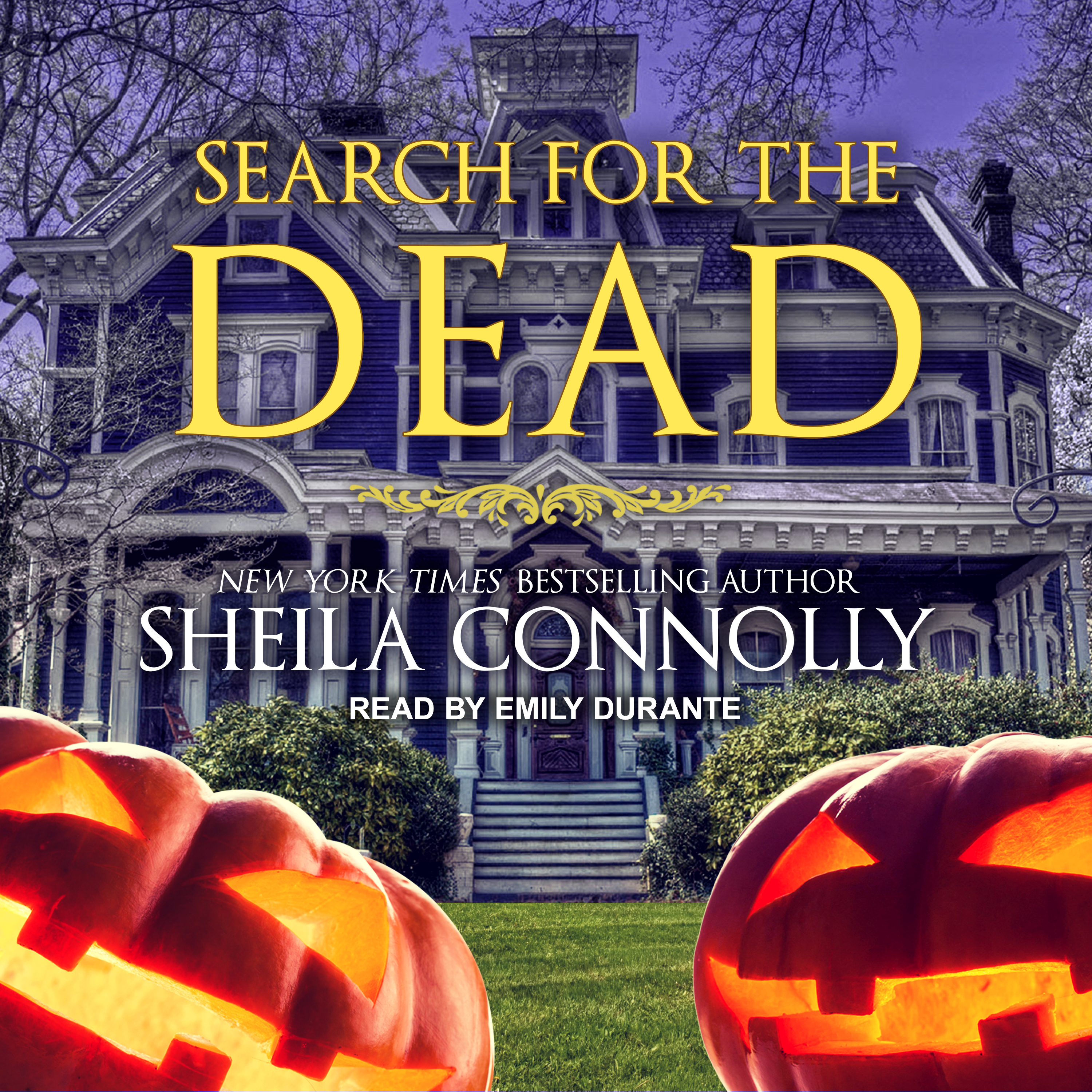 Printable Search for the Dead Audiobook Cover Art